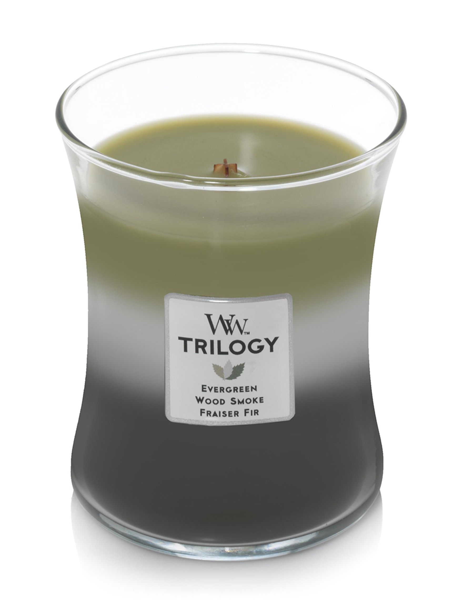 Woodwick White / Black / Green / Grey Candles Candles & Diffusers
