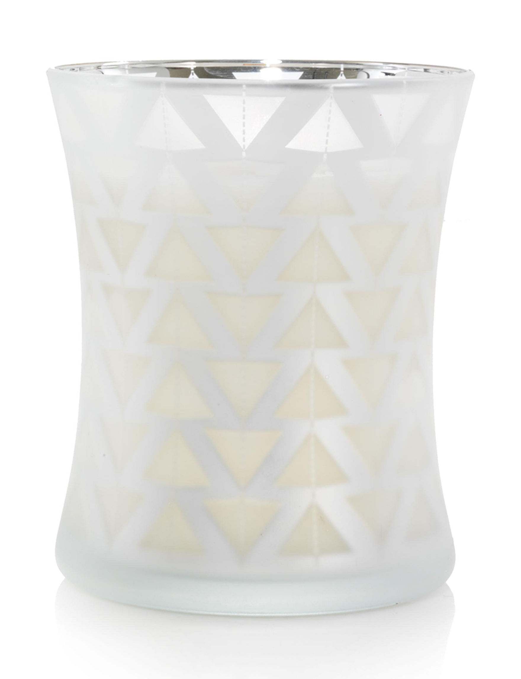 Woodwick White / Silver Candles Candles & Diffusers