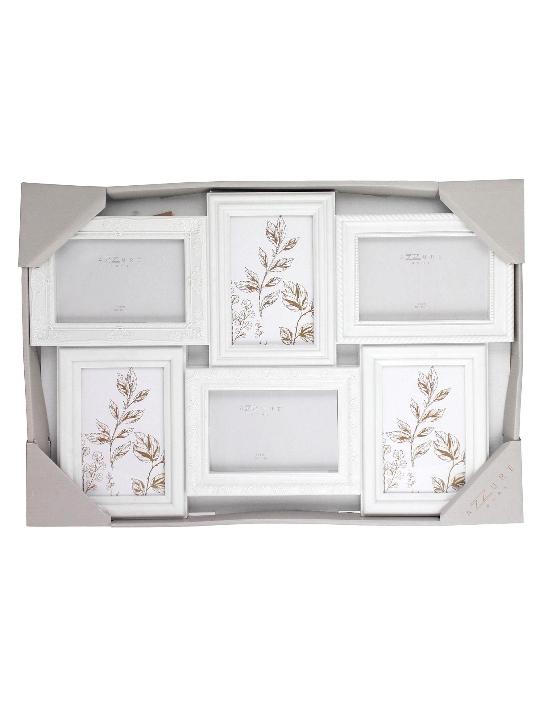 Azzure Home White Frames & Shadow Boxes