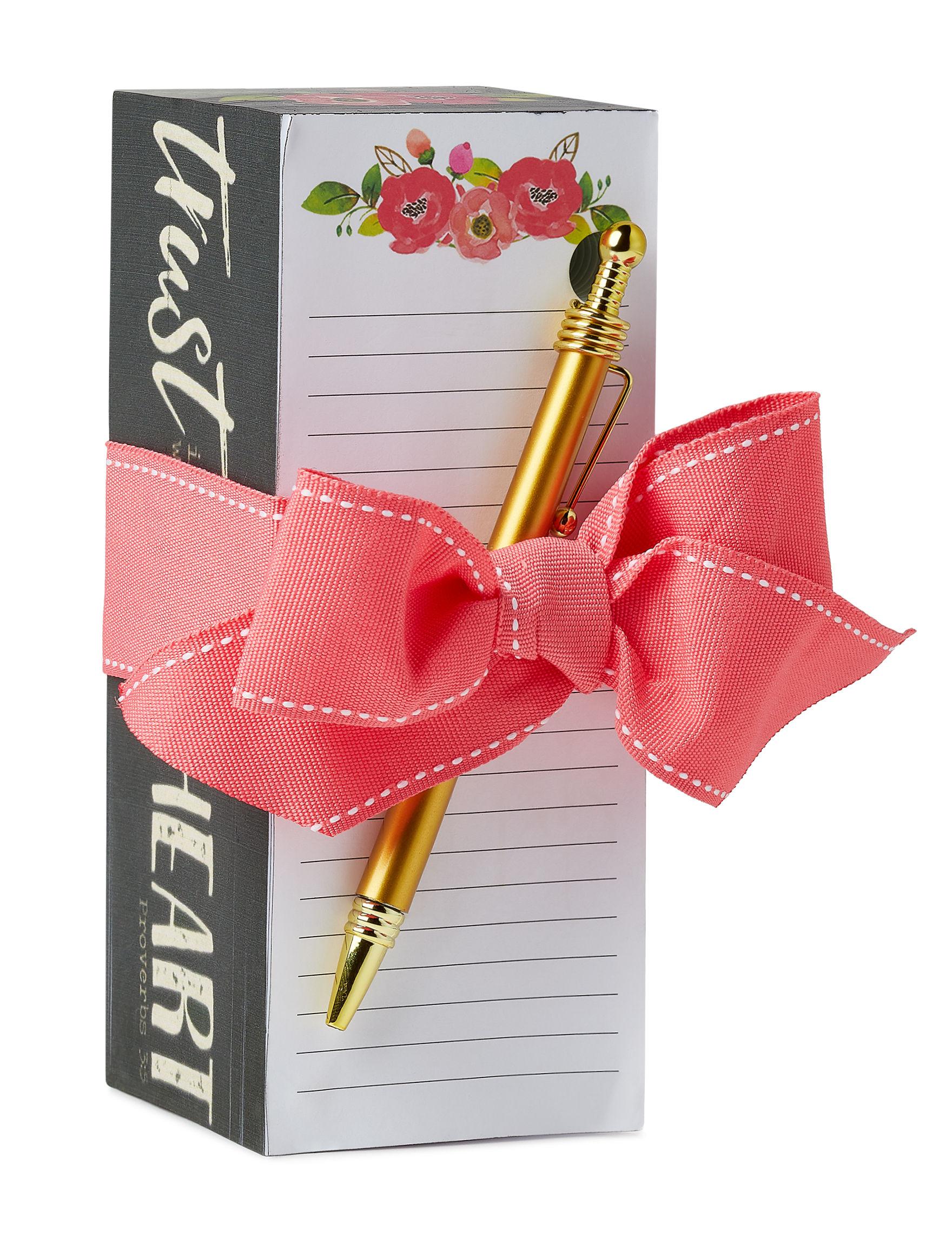 Tri Coastal White Journals & Notepads School & Office Supplies