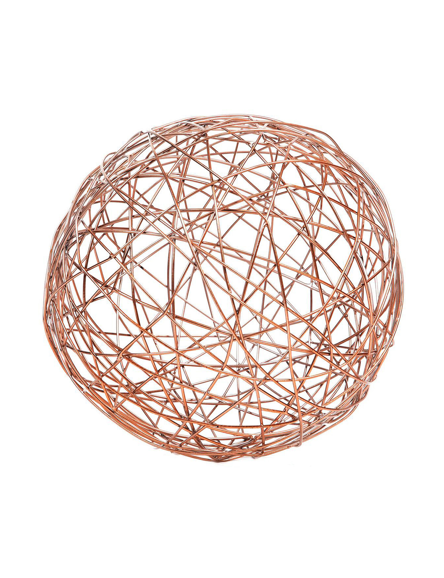 Home Essentials Copper Decorative Objects Home Accents