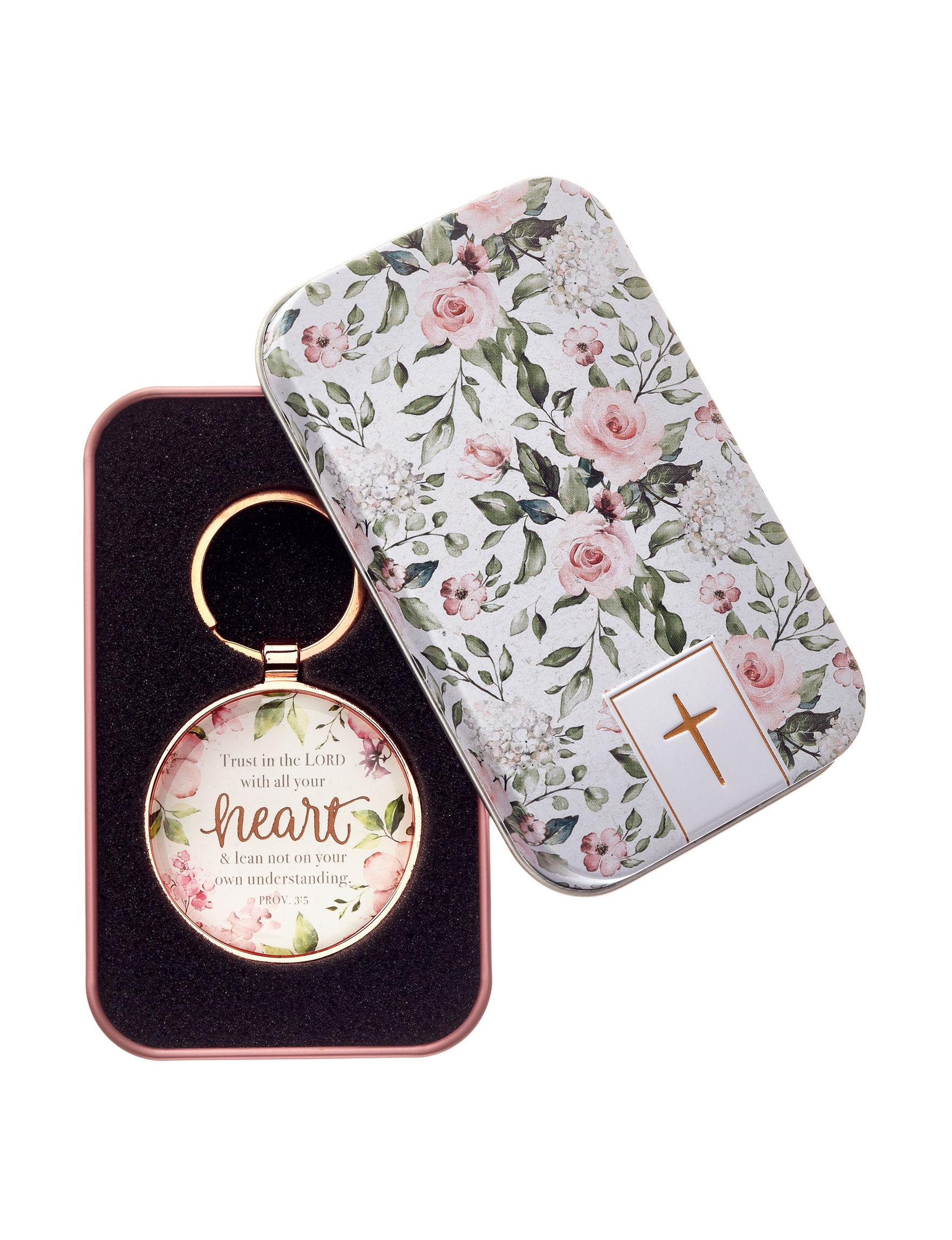 Christian Art Gifts White Floral Accessories