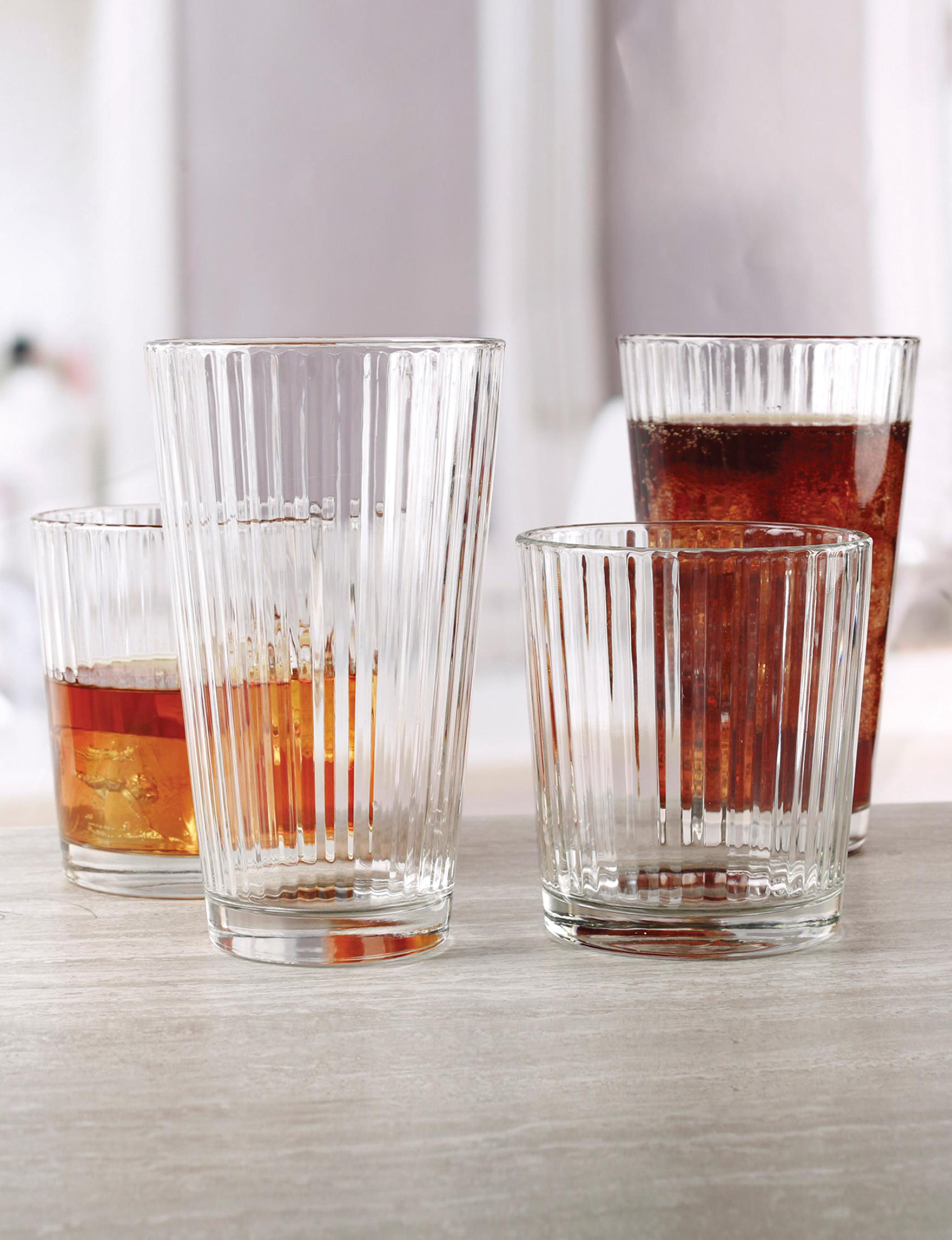 Circle Glass Glass Drinkware Sets Drinkware