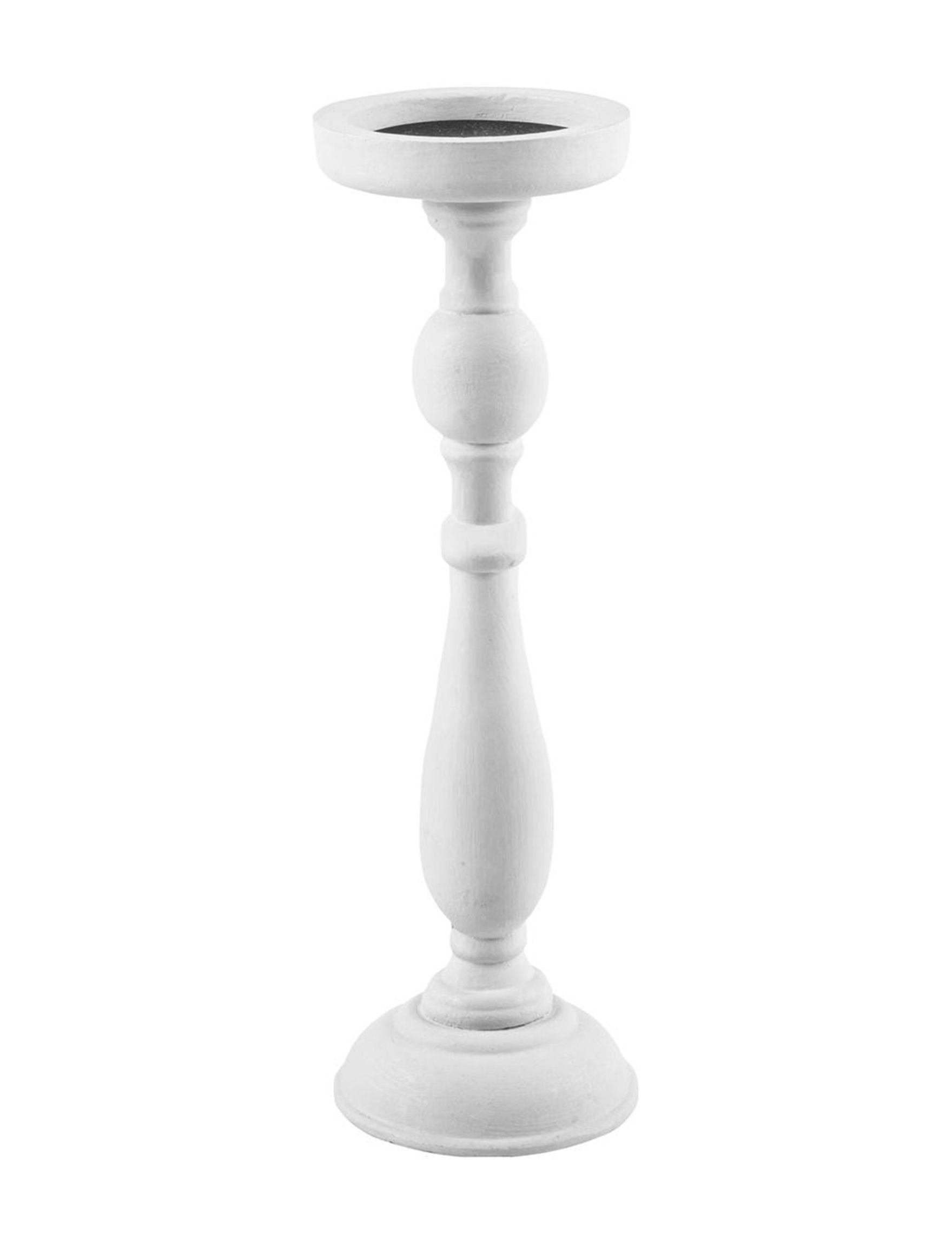 Home Essentials White Candle Holders Candles & Diffusers