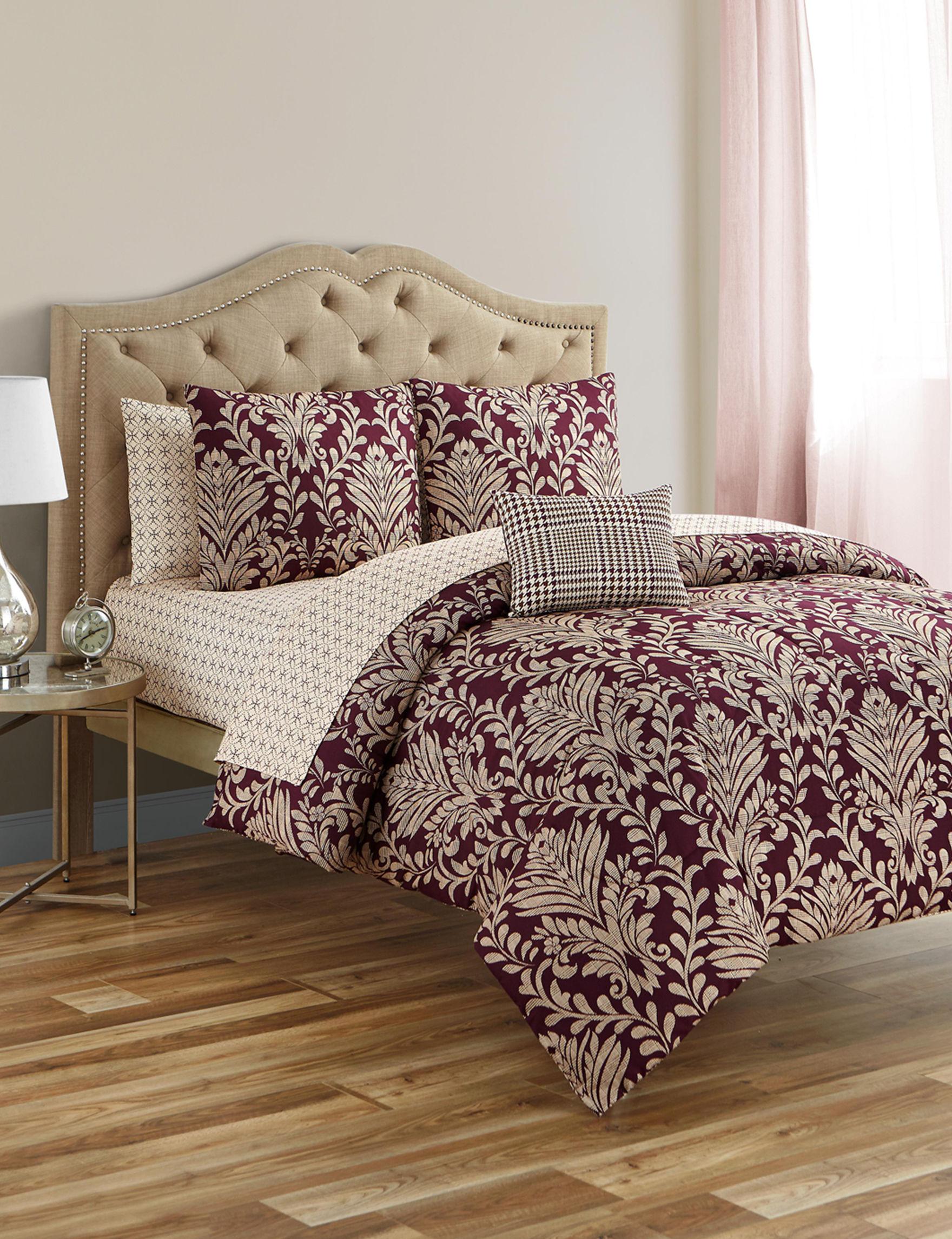 Jessica Sanders Plum Comforters & Comforter Sets