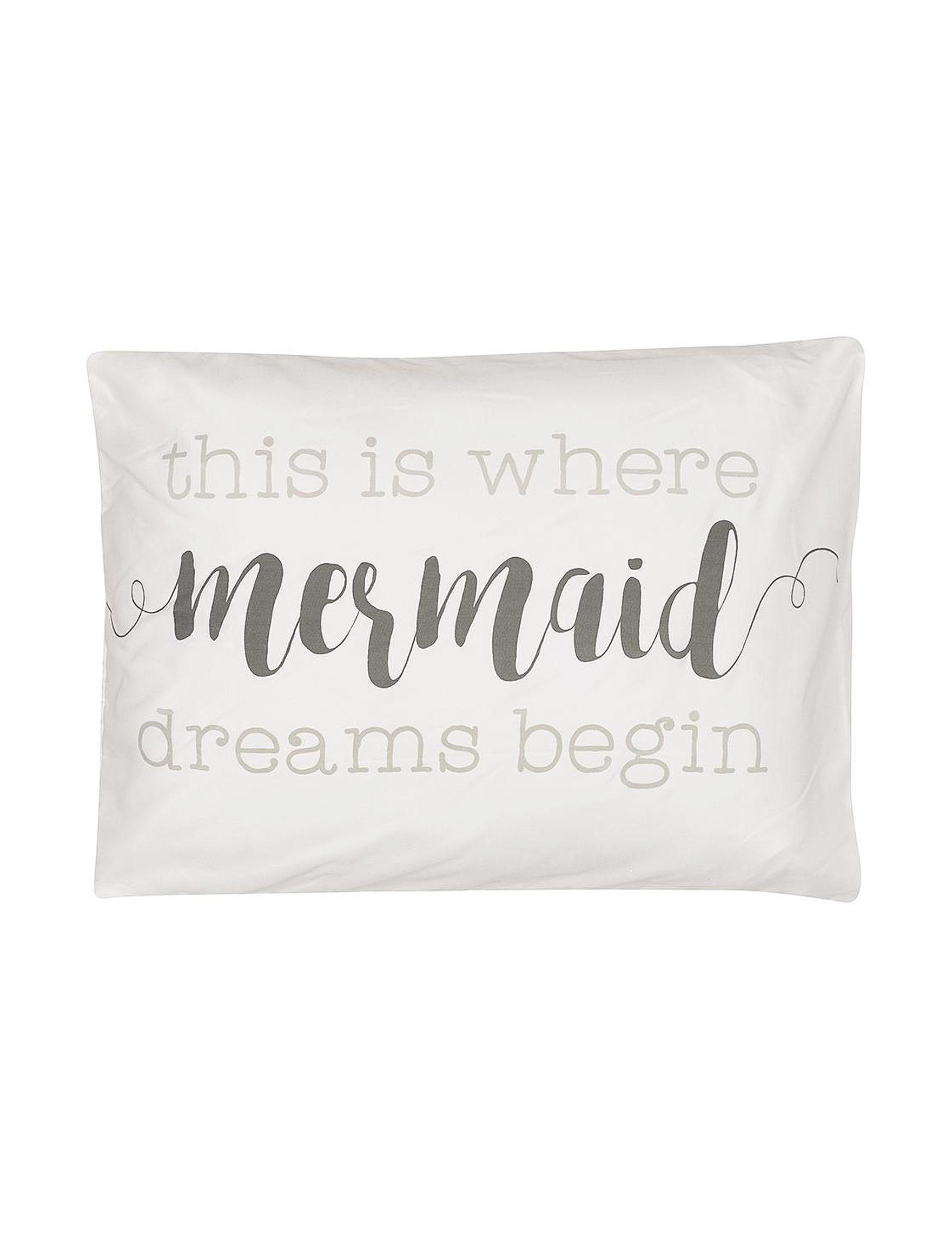 Collins White Pillowcases & Pillow Shams