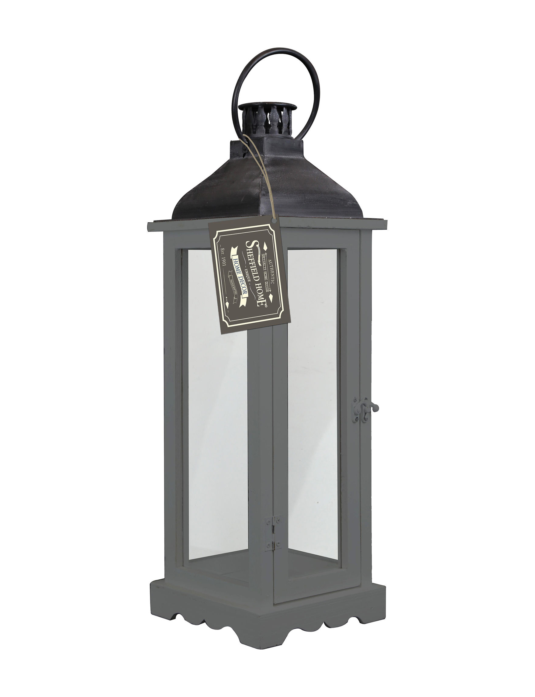Enchante Dark Grey Lights & Lanterns Home Accents