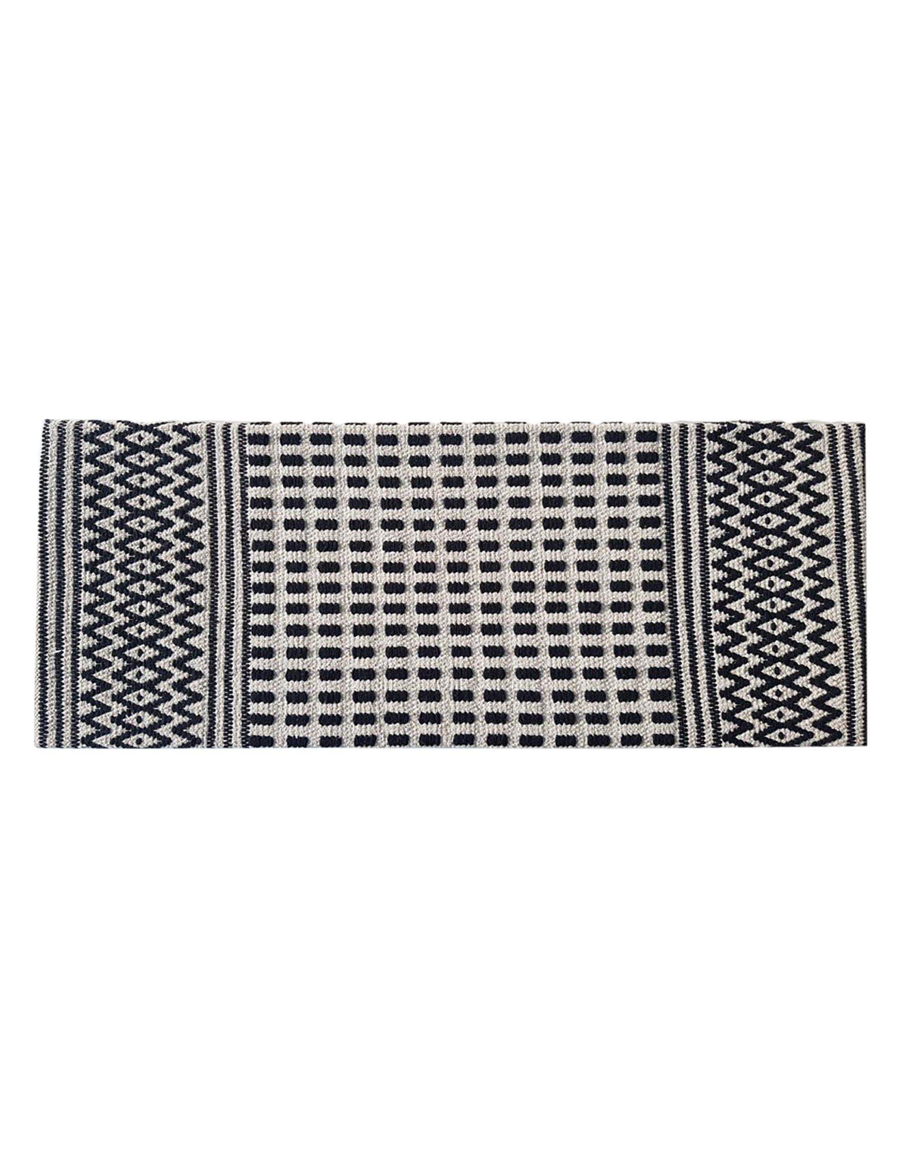 Direct Home Tex. Black / Beige Kitchen Rugs Rugs