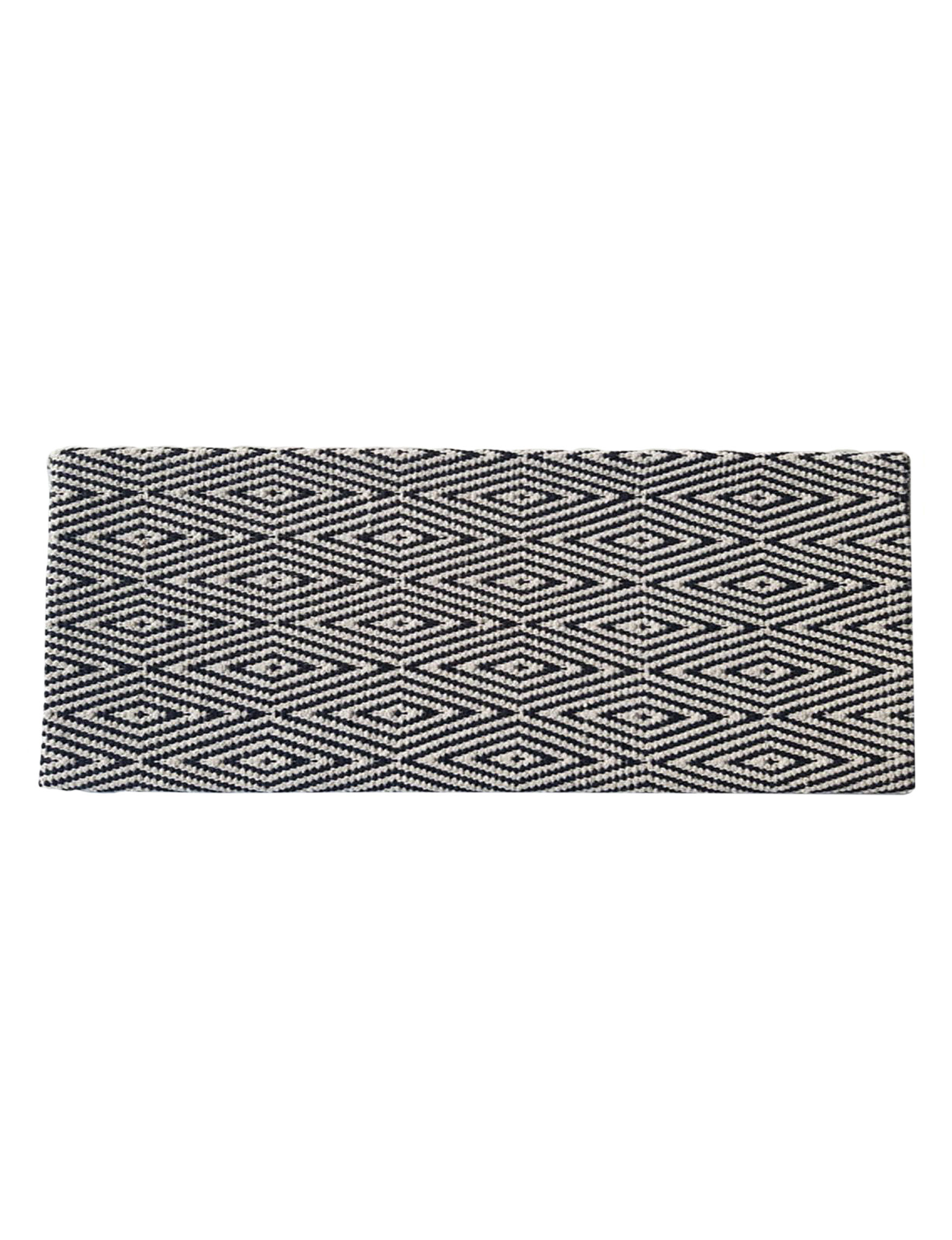 Direct Home Textiles Black / Beige Kitchen Rugs Rugs