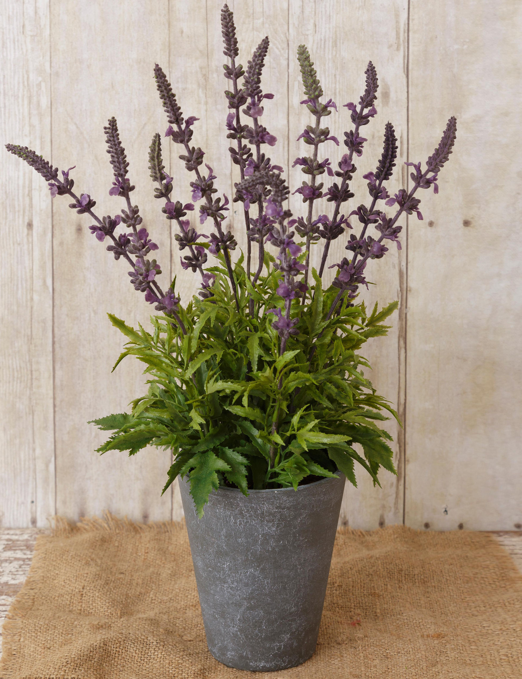 Your Heart's Delight By Audrey Purple Faux Plants Home Accents