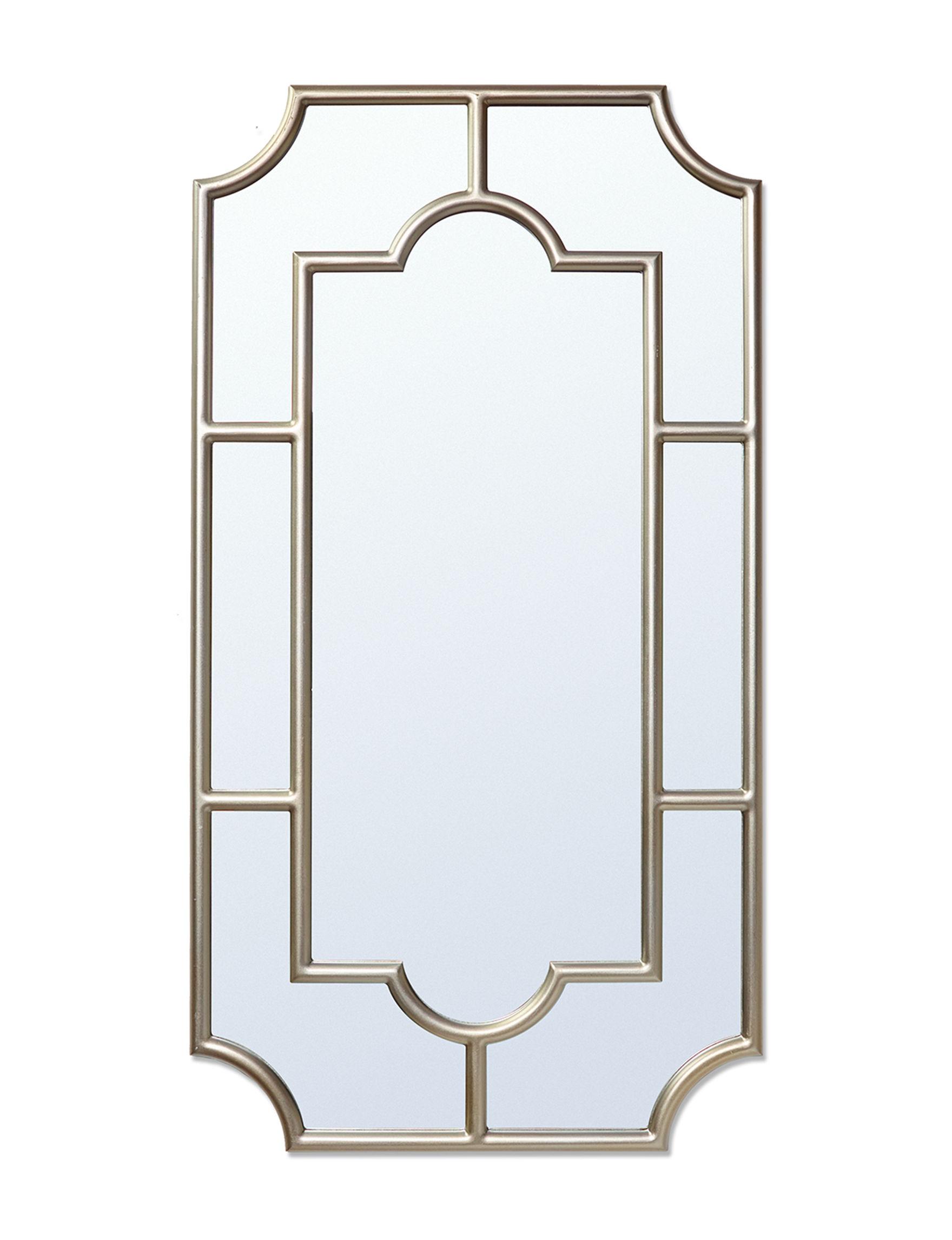 Enchante Grey Mirrors Wall Decor