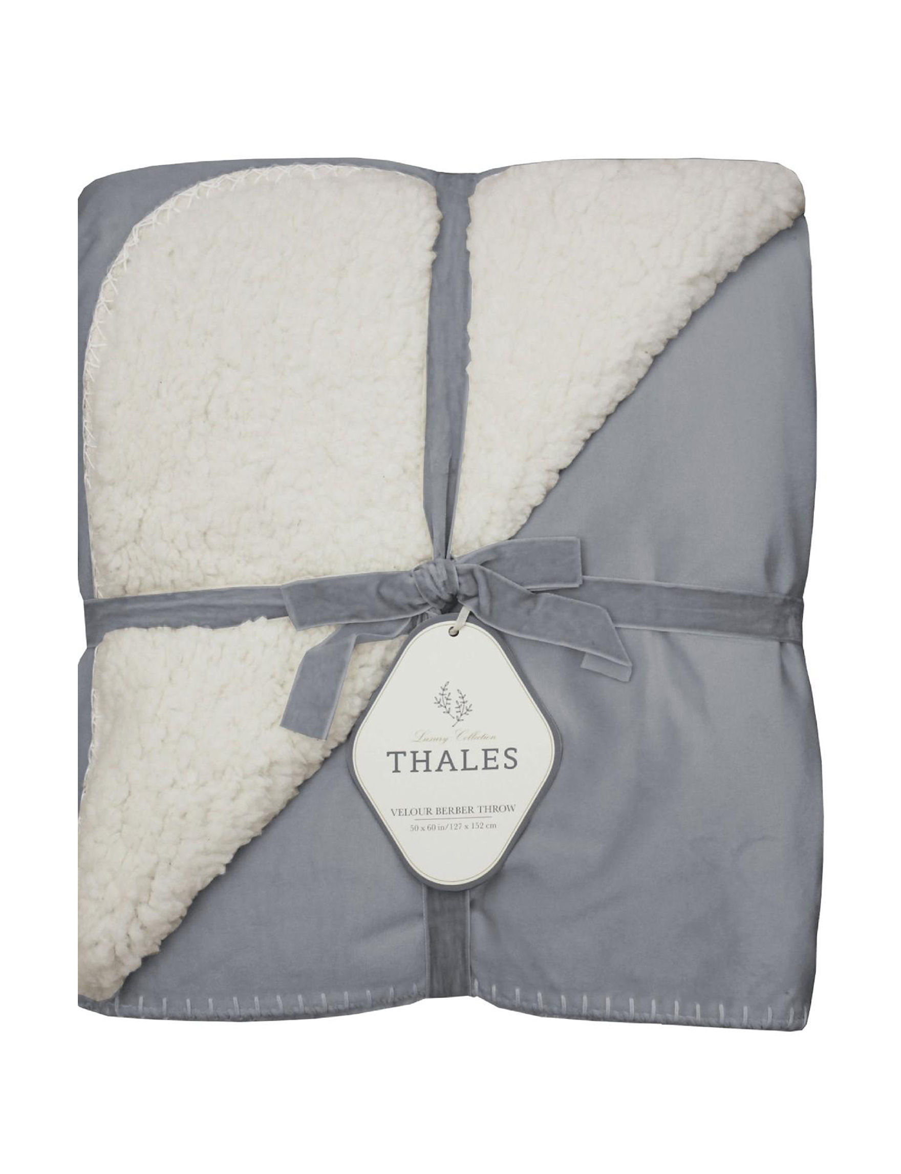 Thales Blue Blankets & Throws