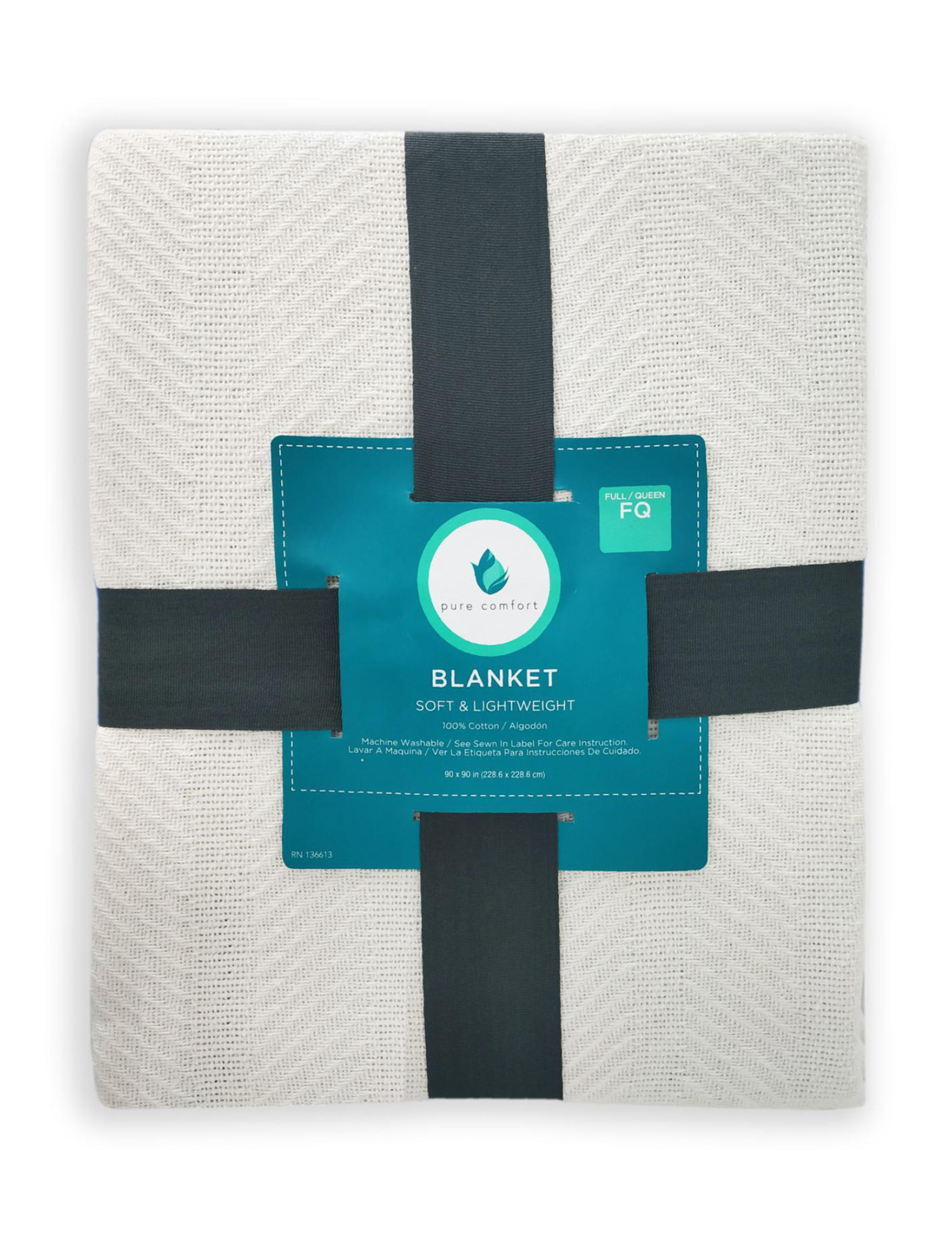 Pure Comfort Cream Blankets & Throws