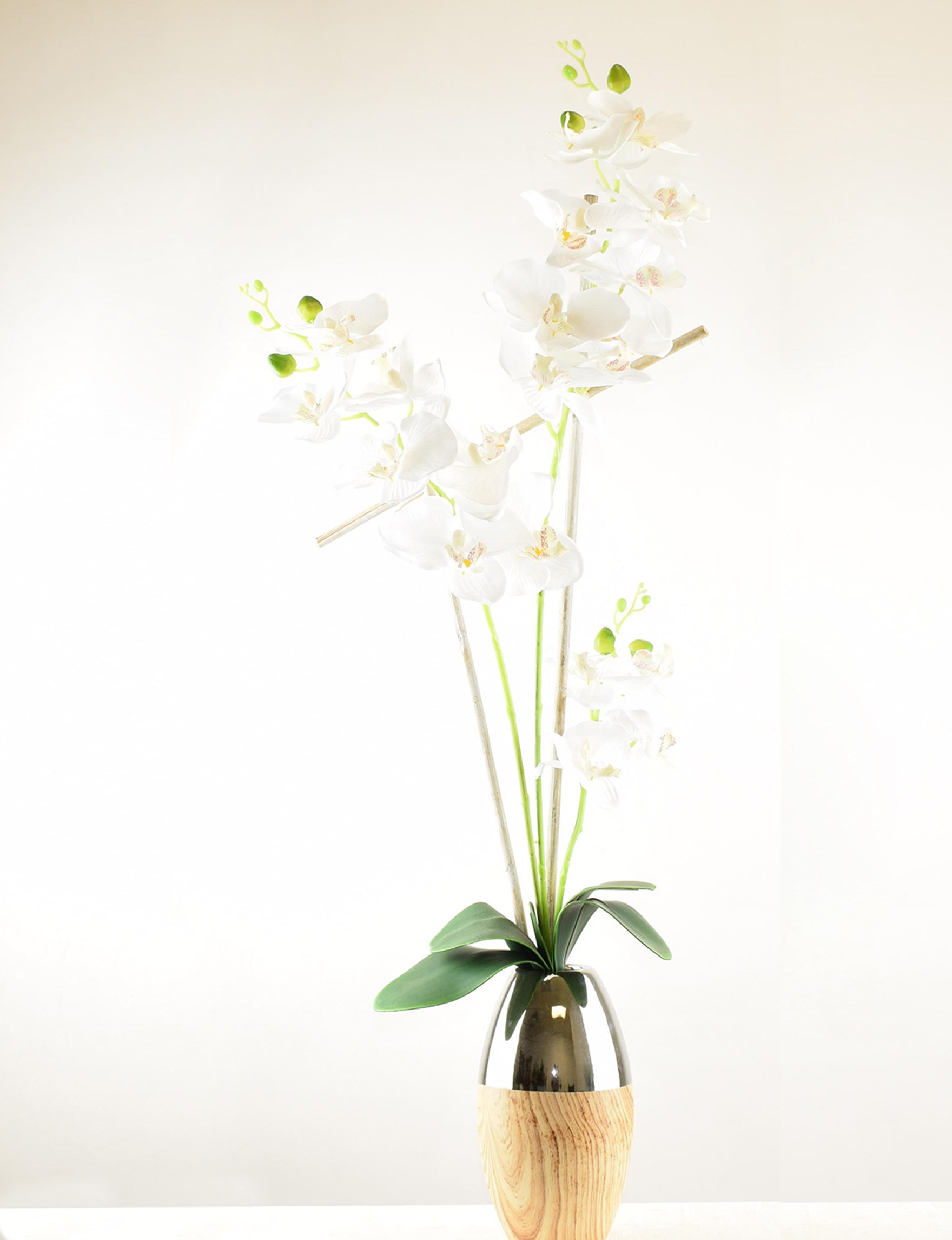 Brown Multi Faux Plants Home Accents