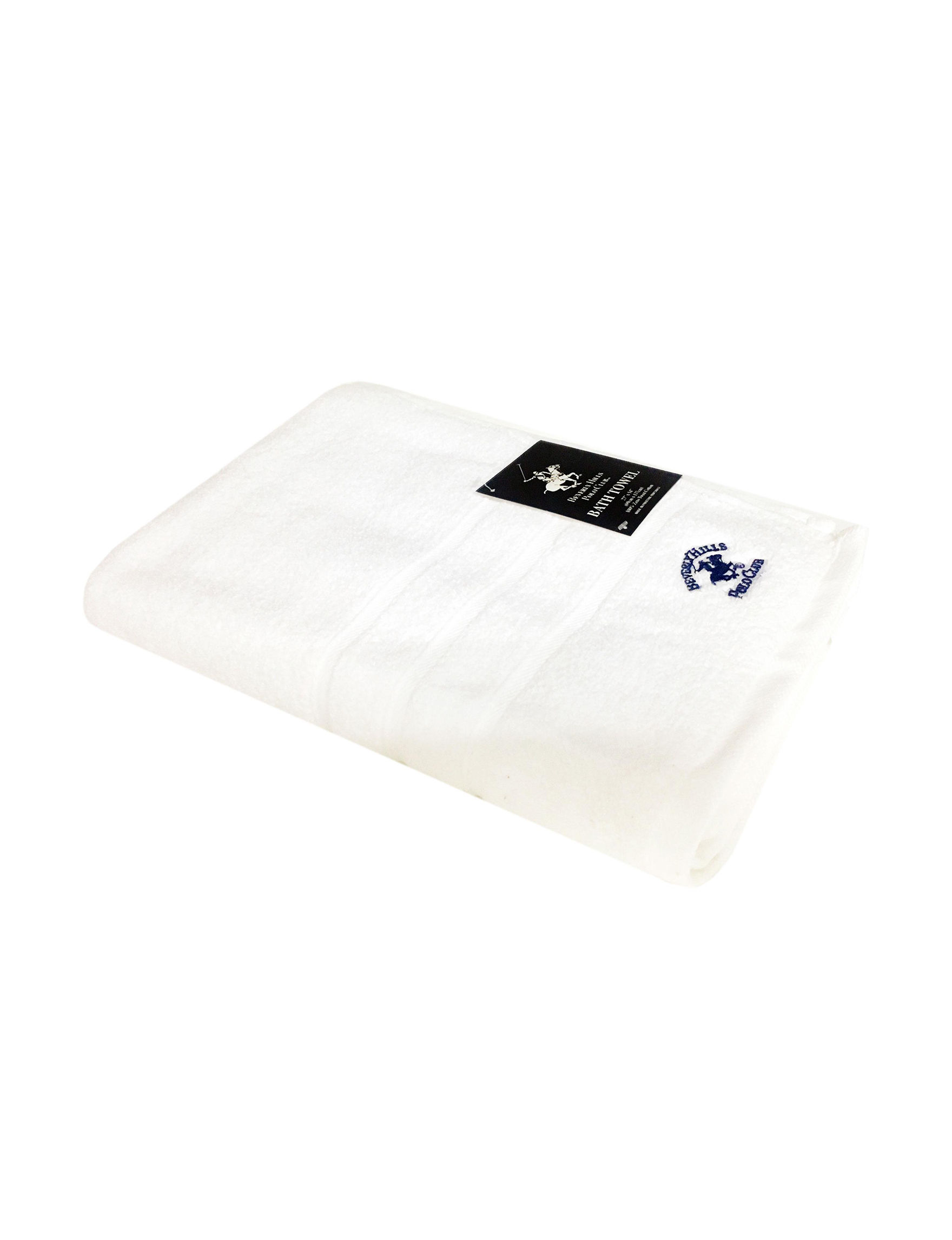Beverly Hills Polo Club White Bath Towels Towels