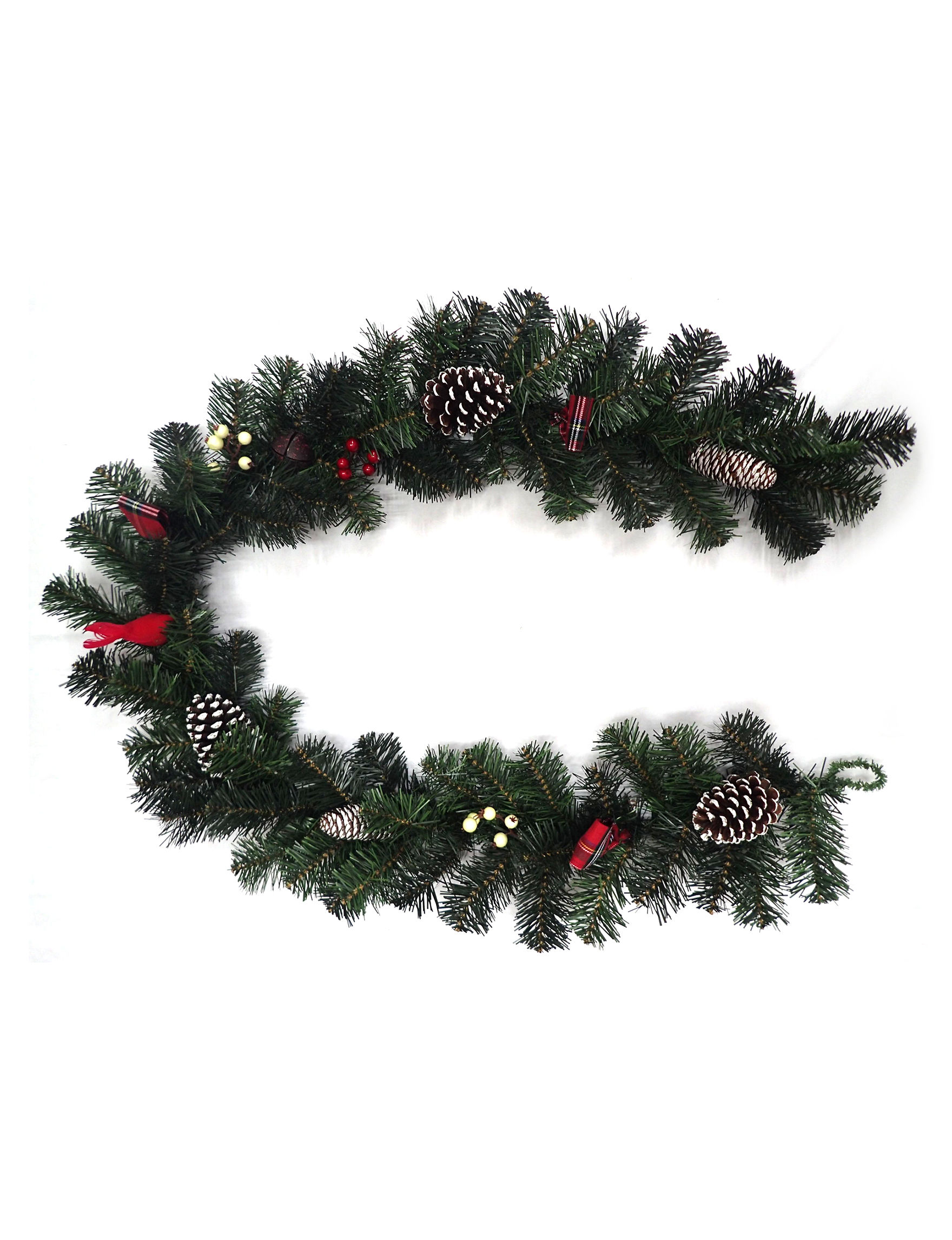 Evernoble Limit Dark Green Wreaths & Garland Holiday Decor