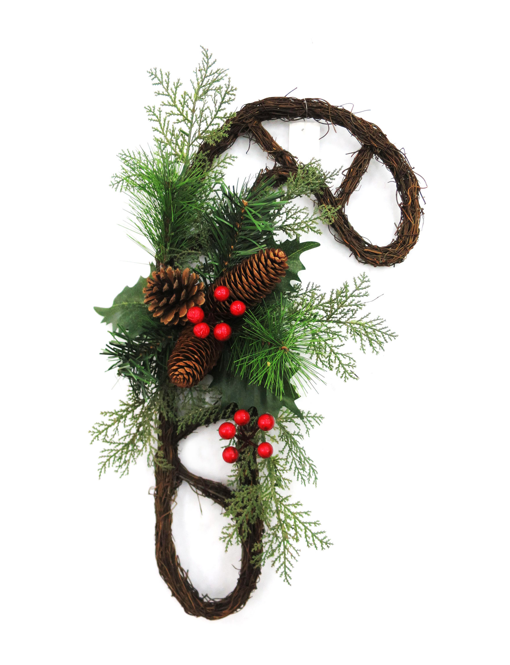 Evernoble Limit Brown / Green Wreaths & Garland Holiday Decor