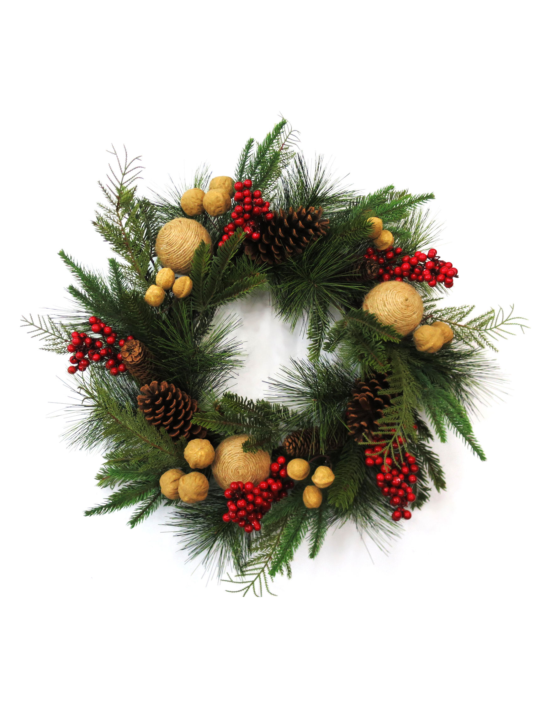 Evernoble Limit Green Multi Wreaths & Garland Holiday Decor