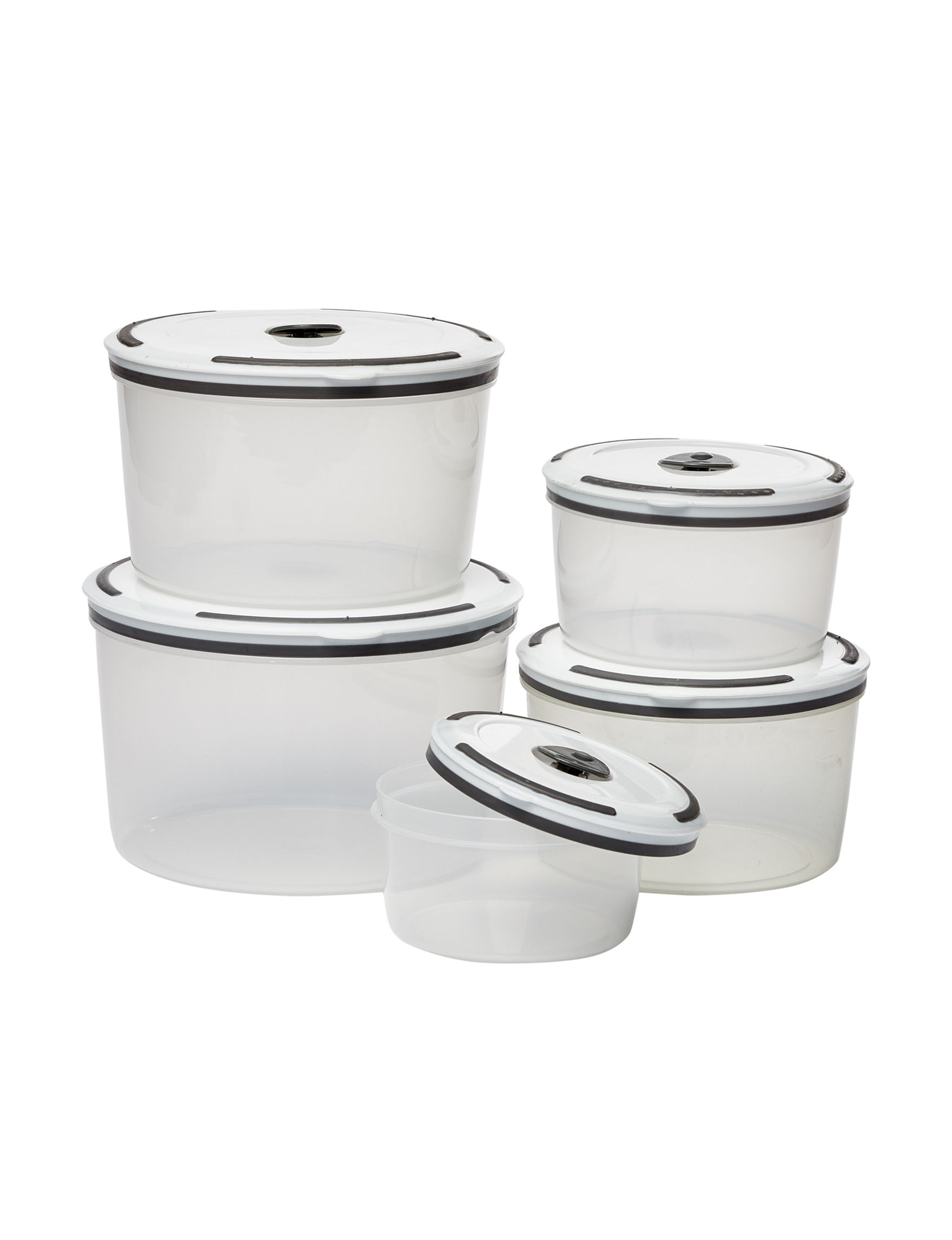 Edge Home White / Multi Food Storage Kitchen Storage & Organization