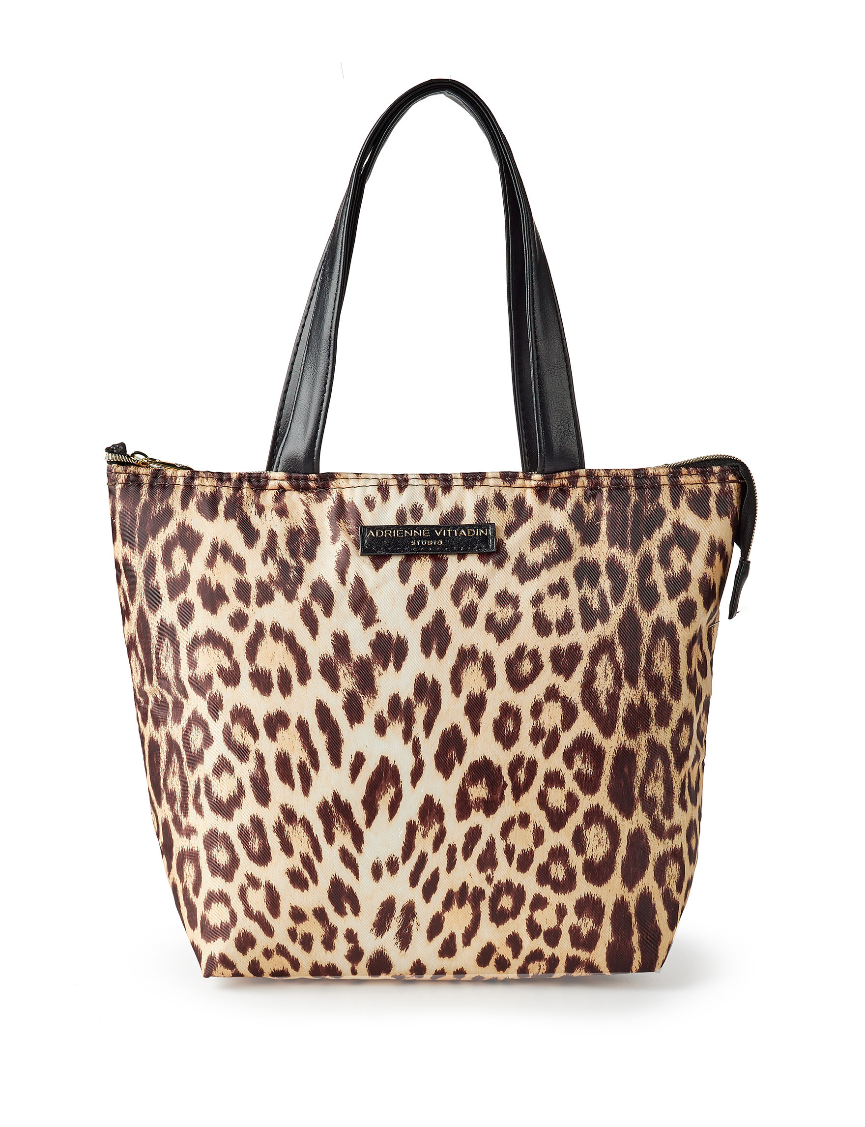 Adrienne Vittadini Leopard Lunch Boxes & Bags Kitchen Storage & Organization
