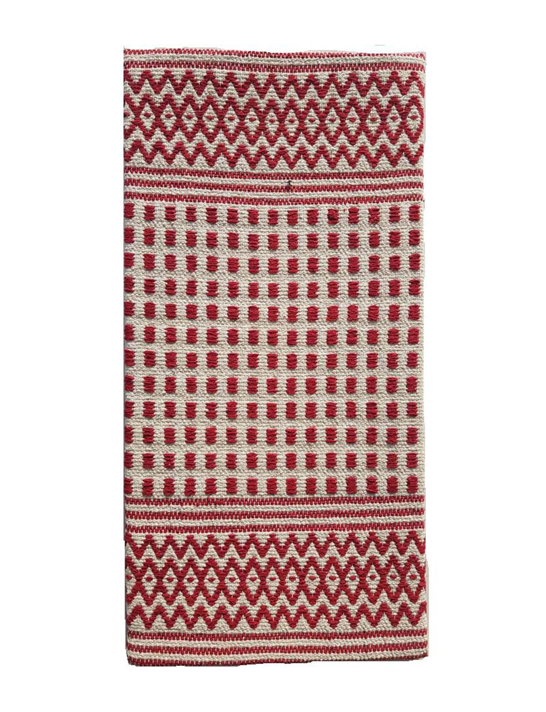Direct Home Tex. Red Kitchen Rugs Rugs