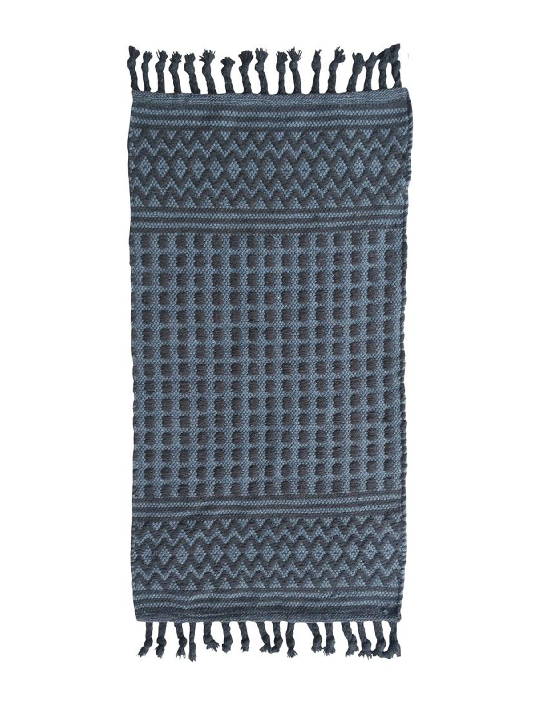 Direct Home Tex. Dark Grey Accent Rugs Rugs