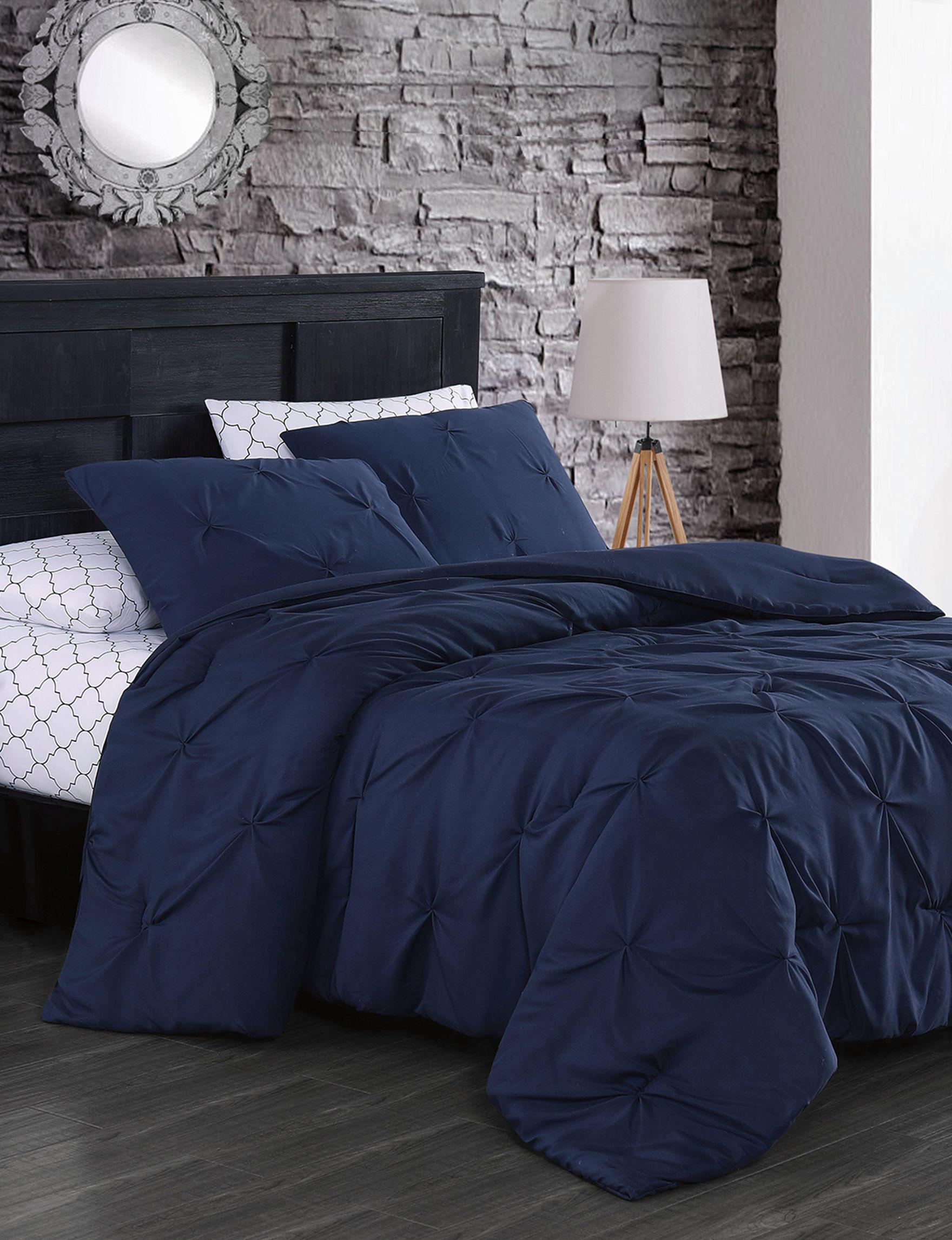 Avondale Manor Navy Comforters & Comforter Sets