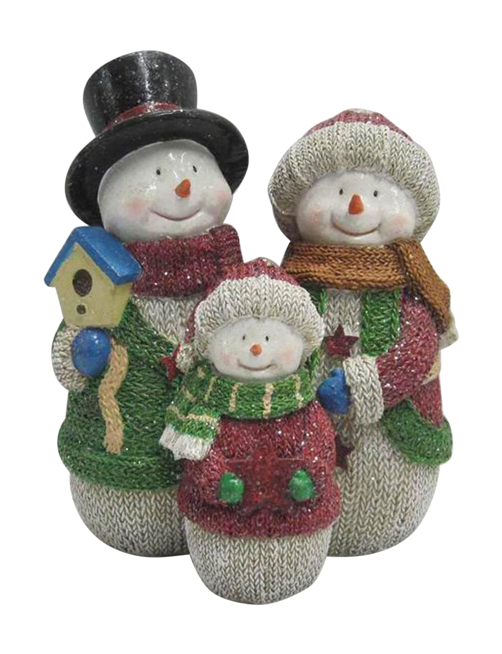 Direct Link White / Multi Decorative Objects Holiday Decor