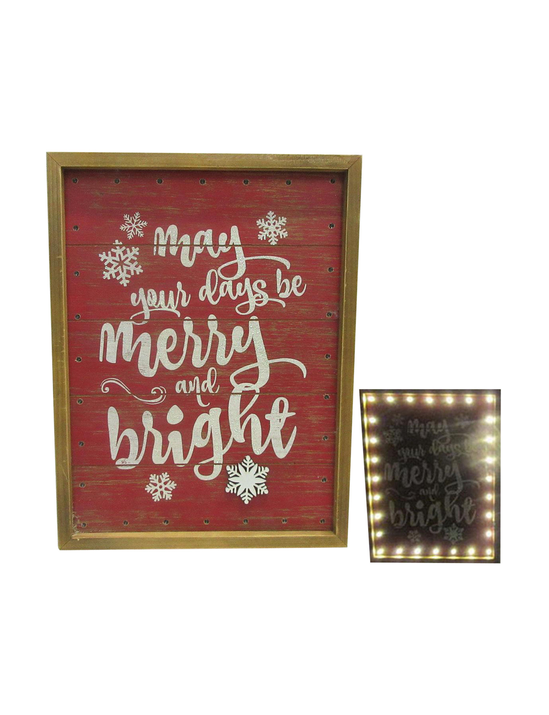 Direct Link Red Holiday Decor