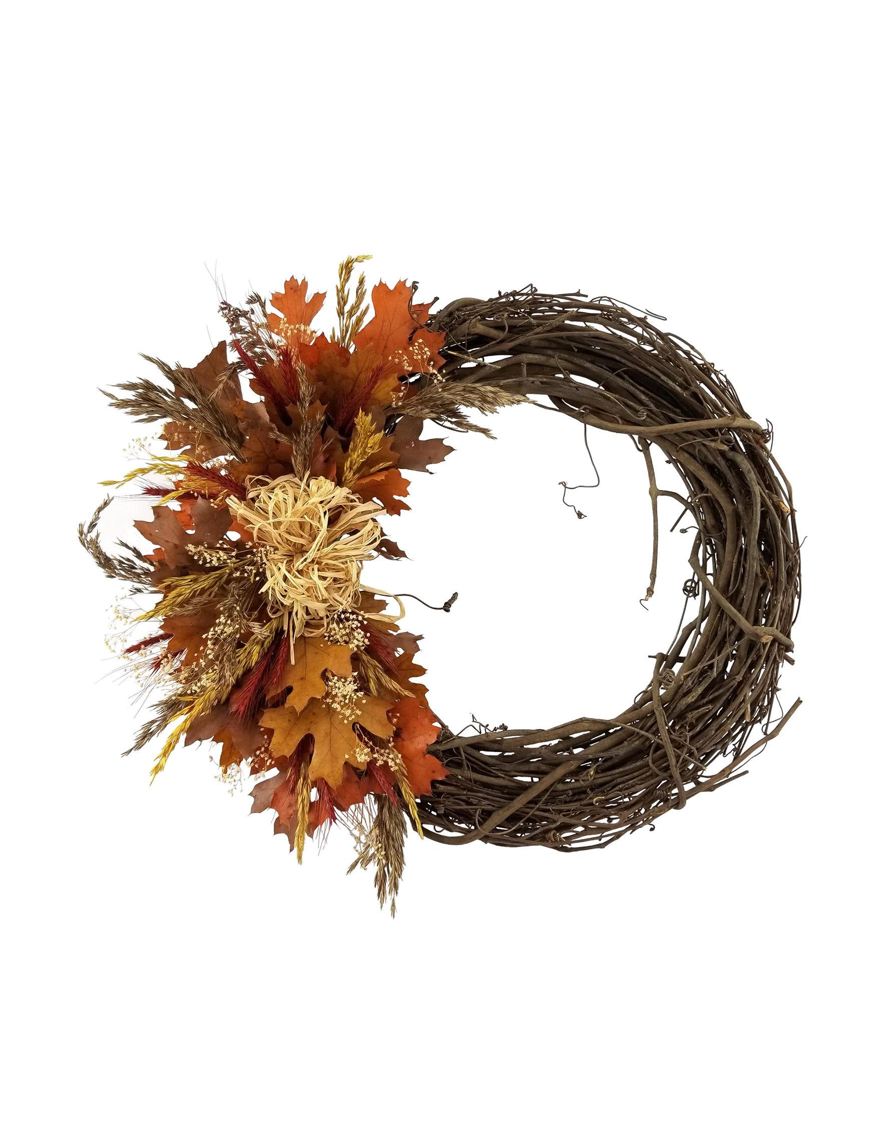 American Oak Preserving Company Brown Multi Wreaths & Garland Holiday Decor