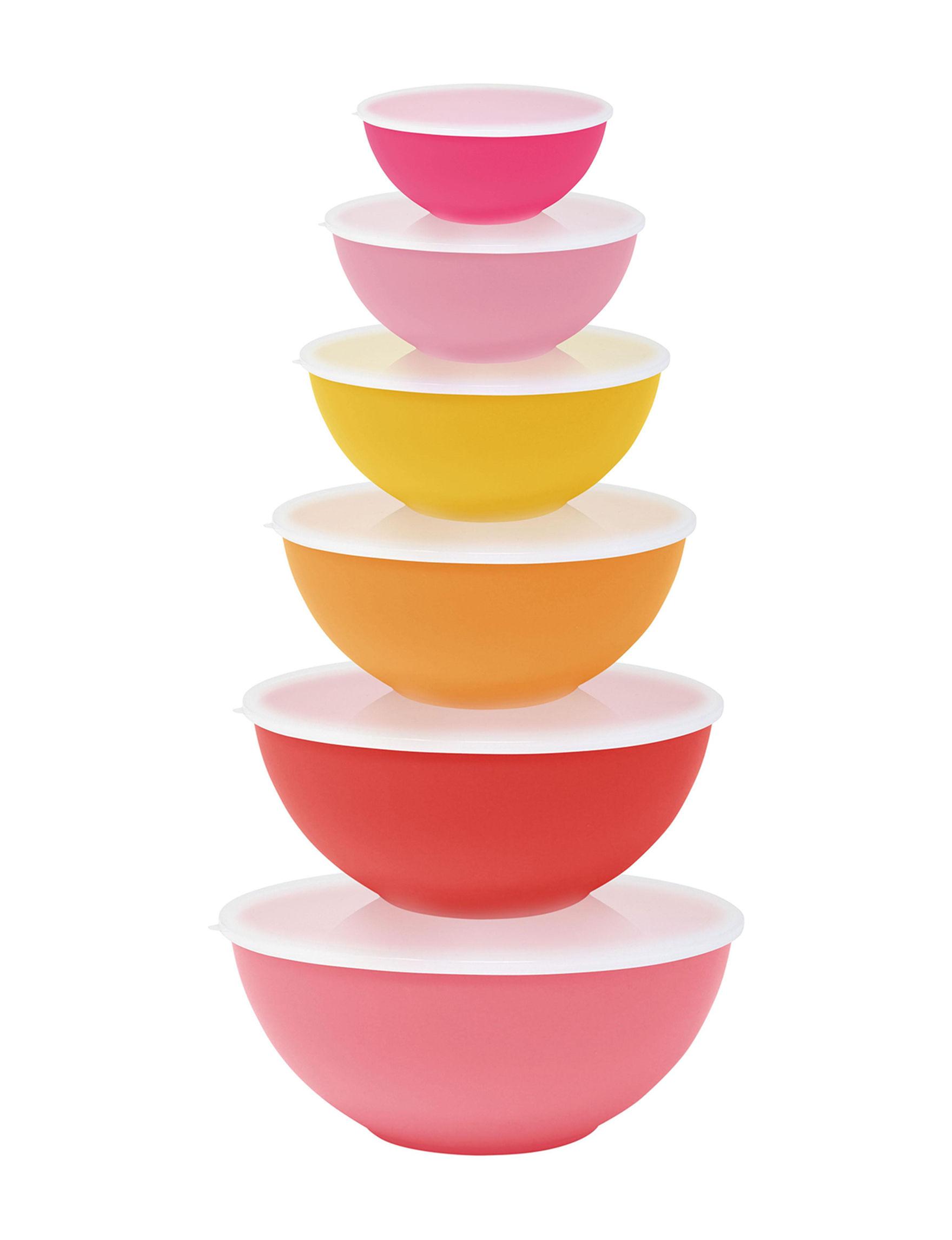 Gourmet Home Pink / Multi Food Storage Prep & Tools