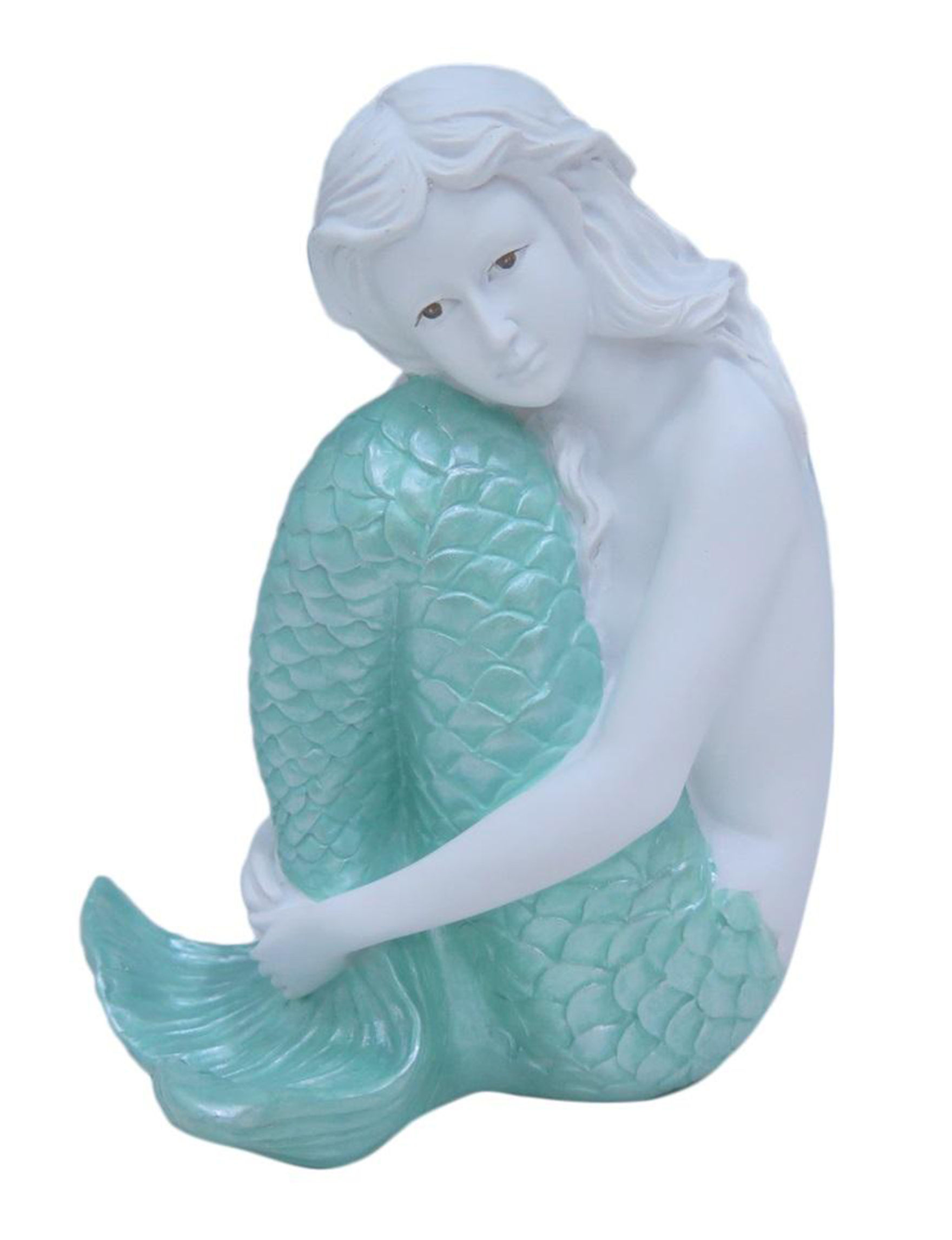 Fancy That Gift White / Aqua Decorative Objects Home Accents