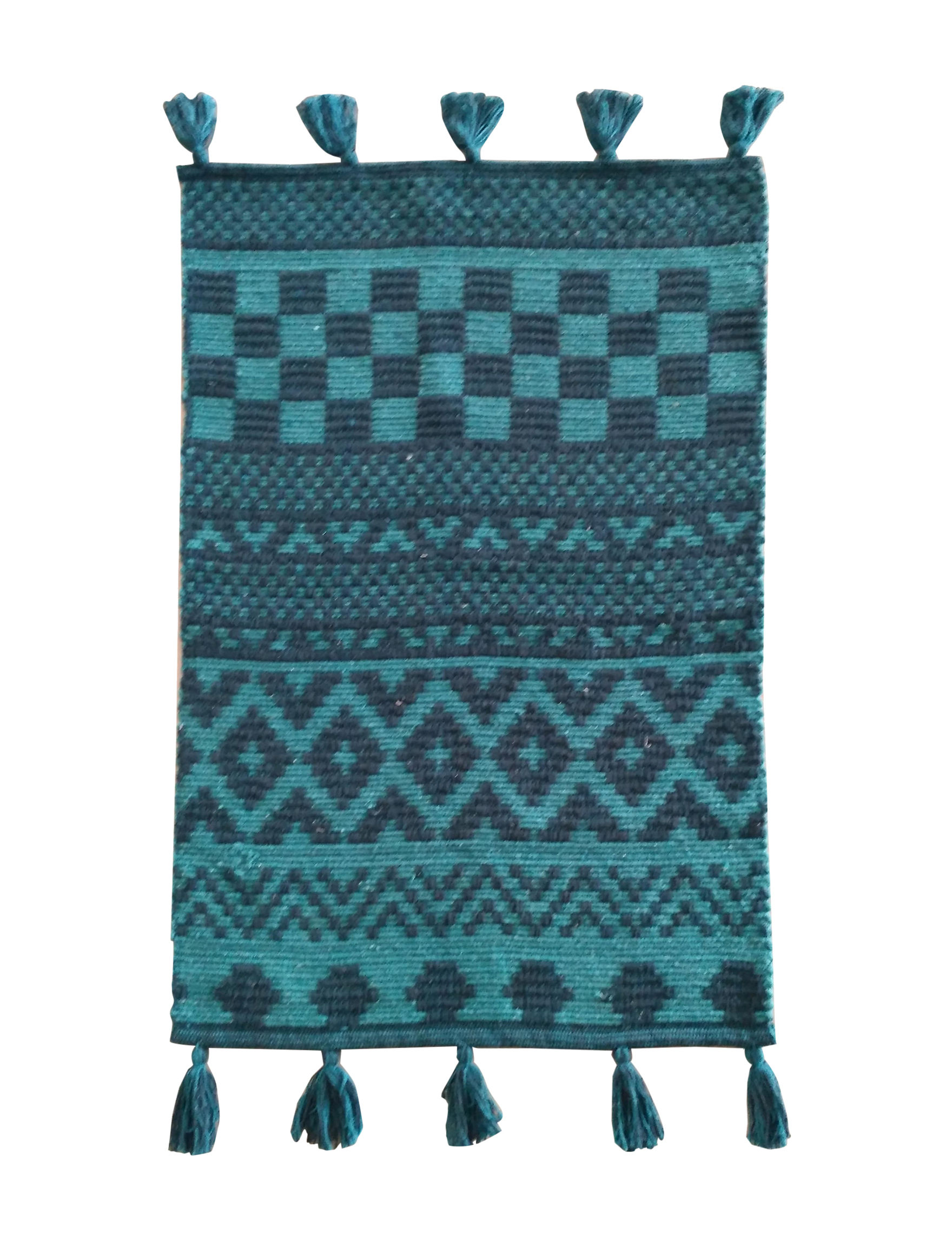 Direct Home Textiles Turquoise/Aqua Accent Rugs Rugs