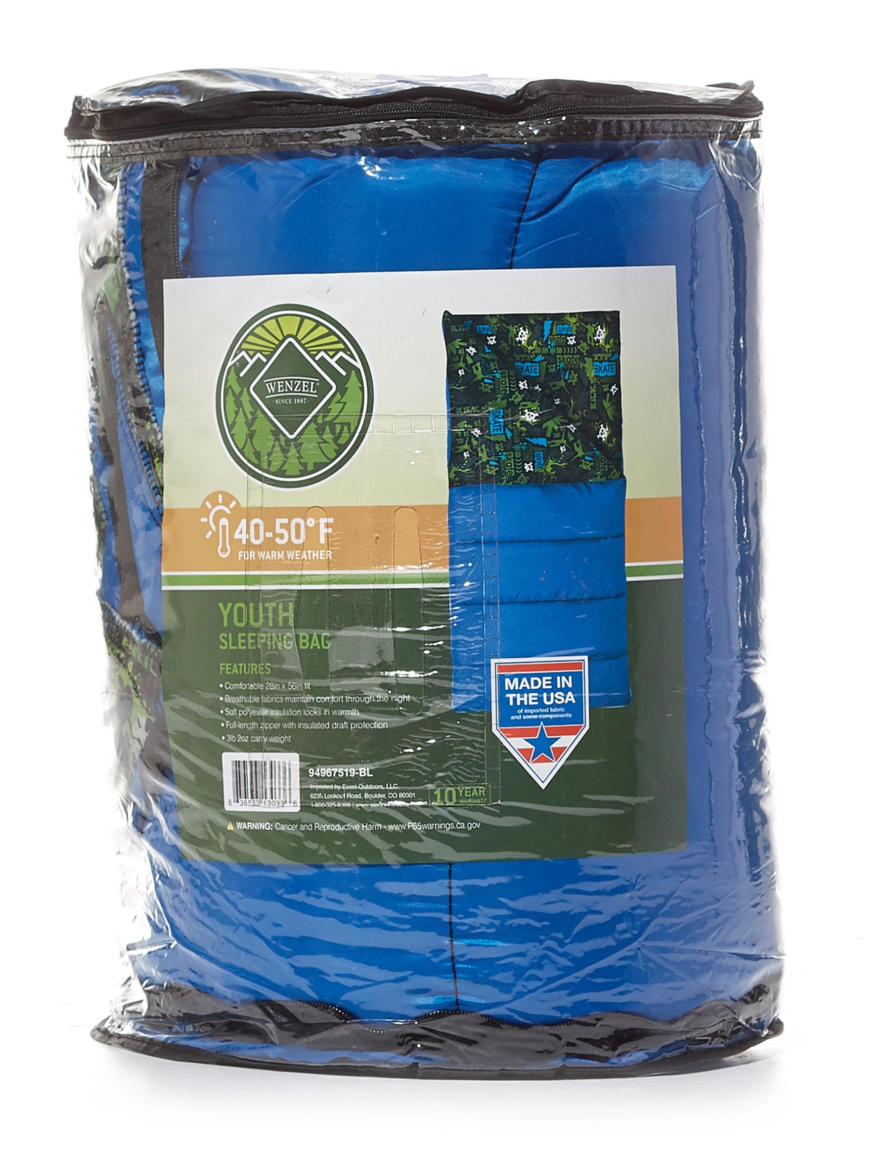 Wenzel Black / Green Sleeping Bags & Mats Camping & Outdoor Gear