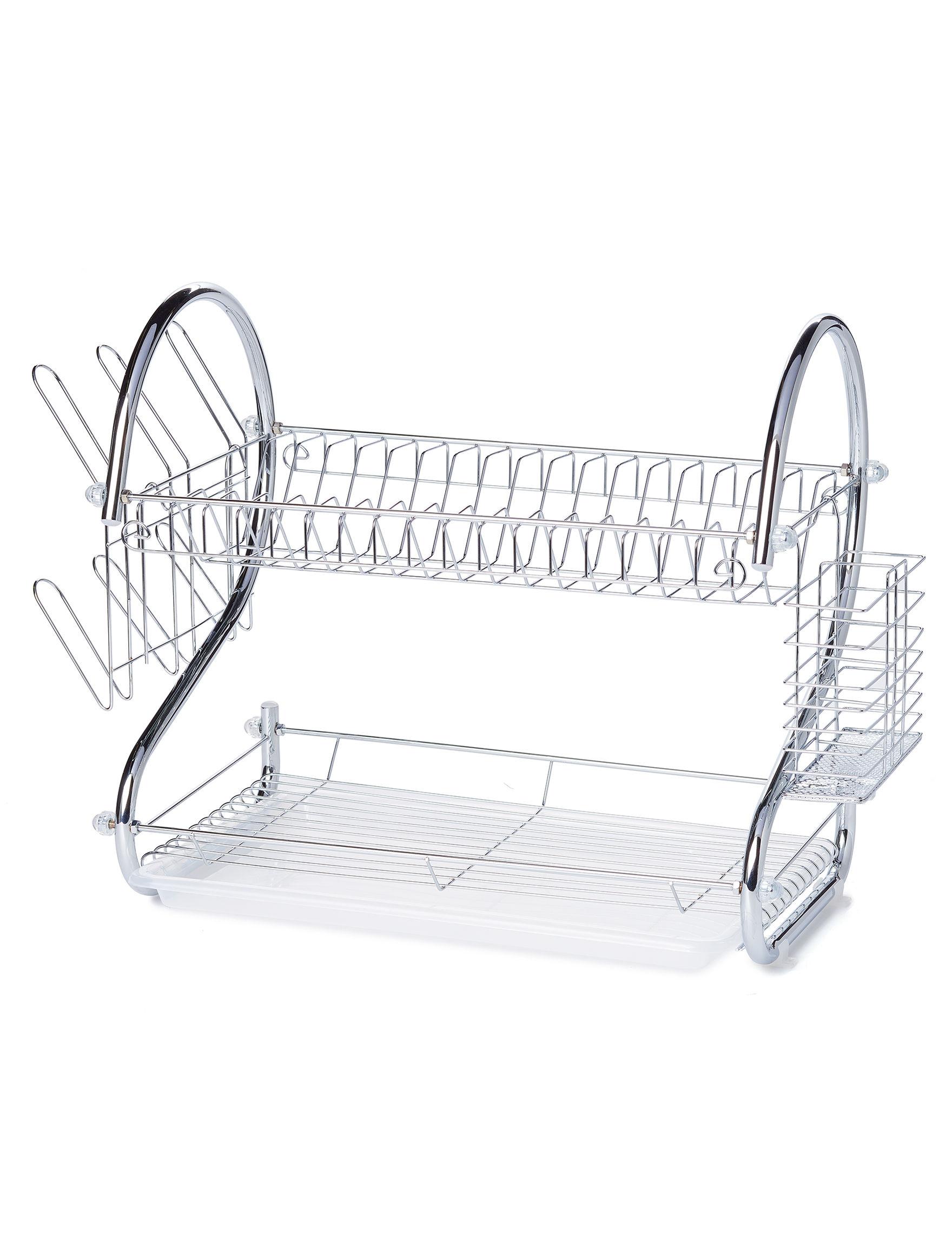 Diamond Home Silver Kitchen Storage & Organization