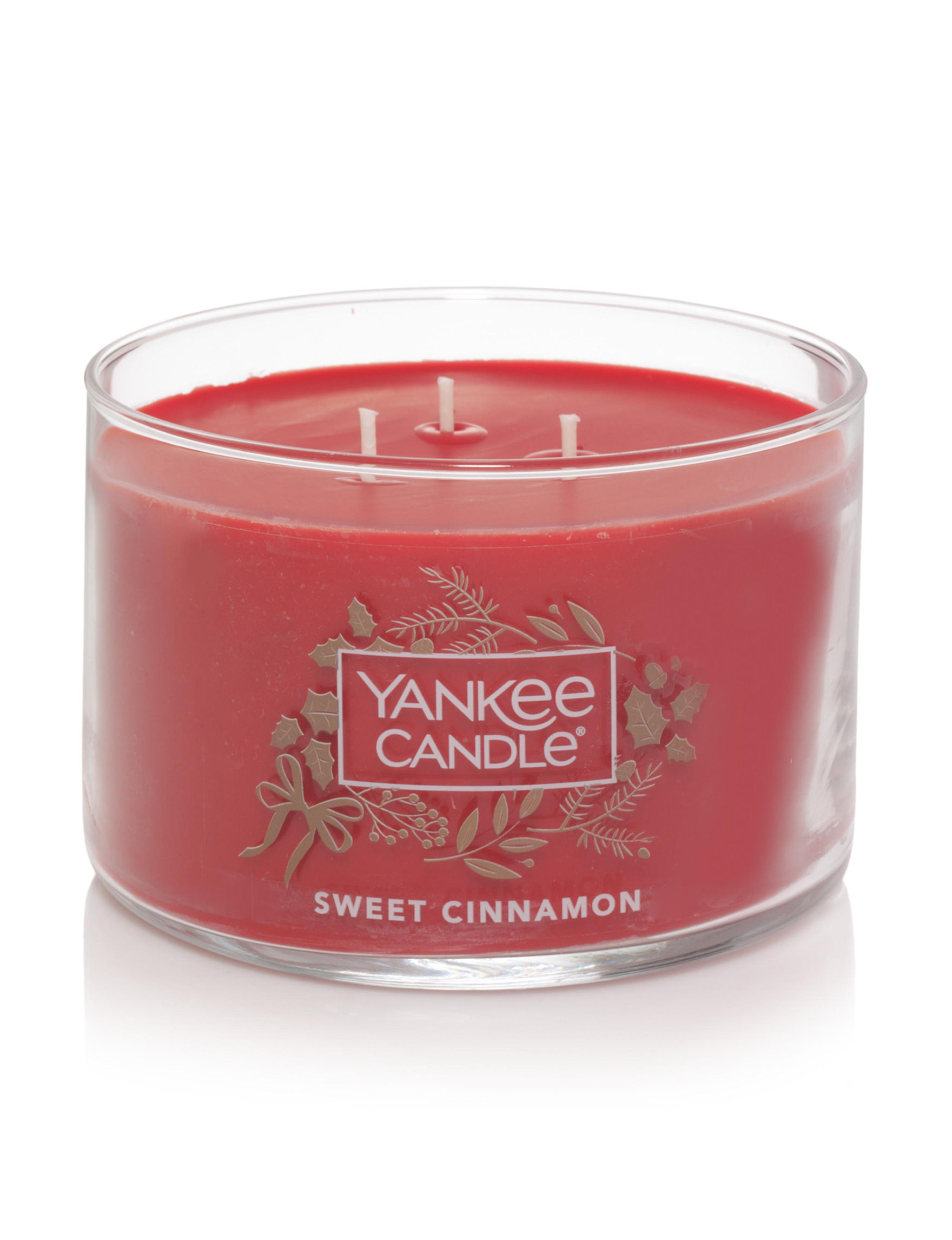 Yankee Candle Red Candles Candles & Diffusers