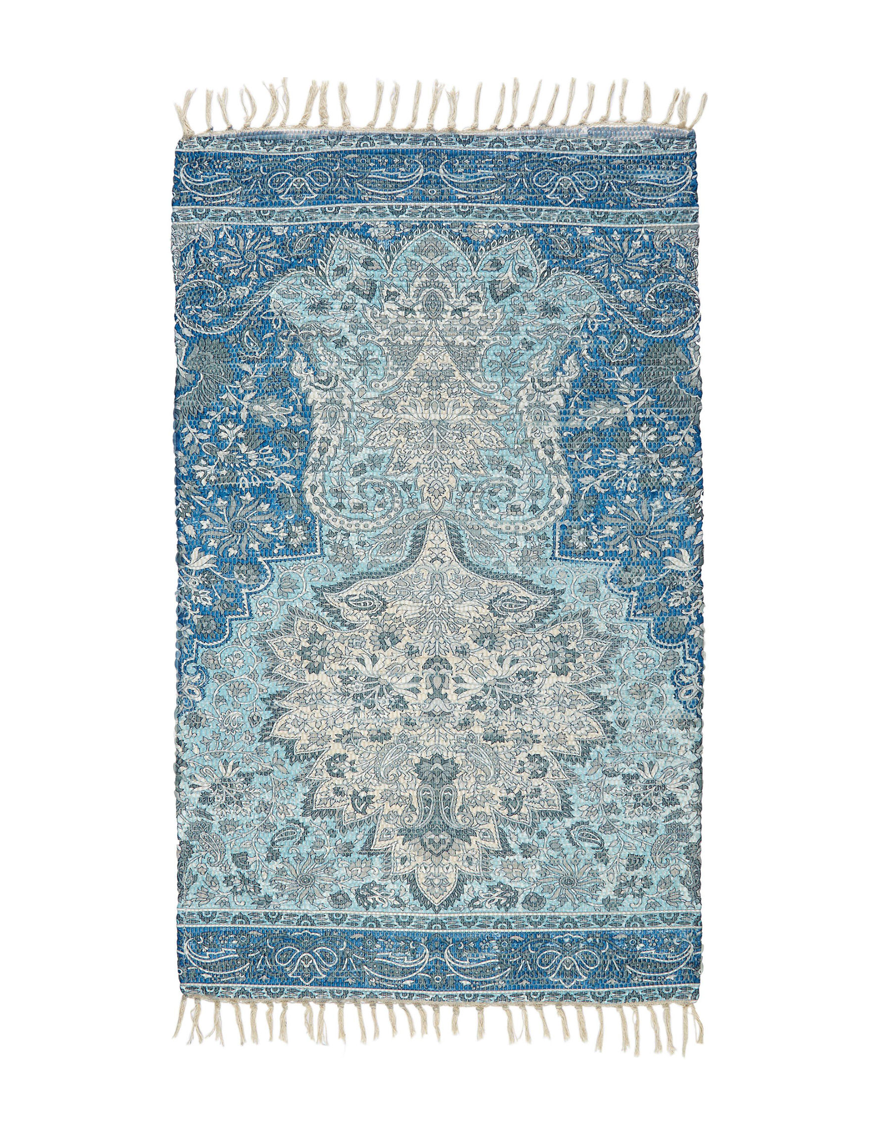 Home Dynamix Blue Multi Accent Rugs Rugs