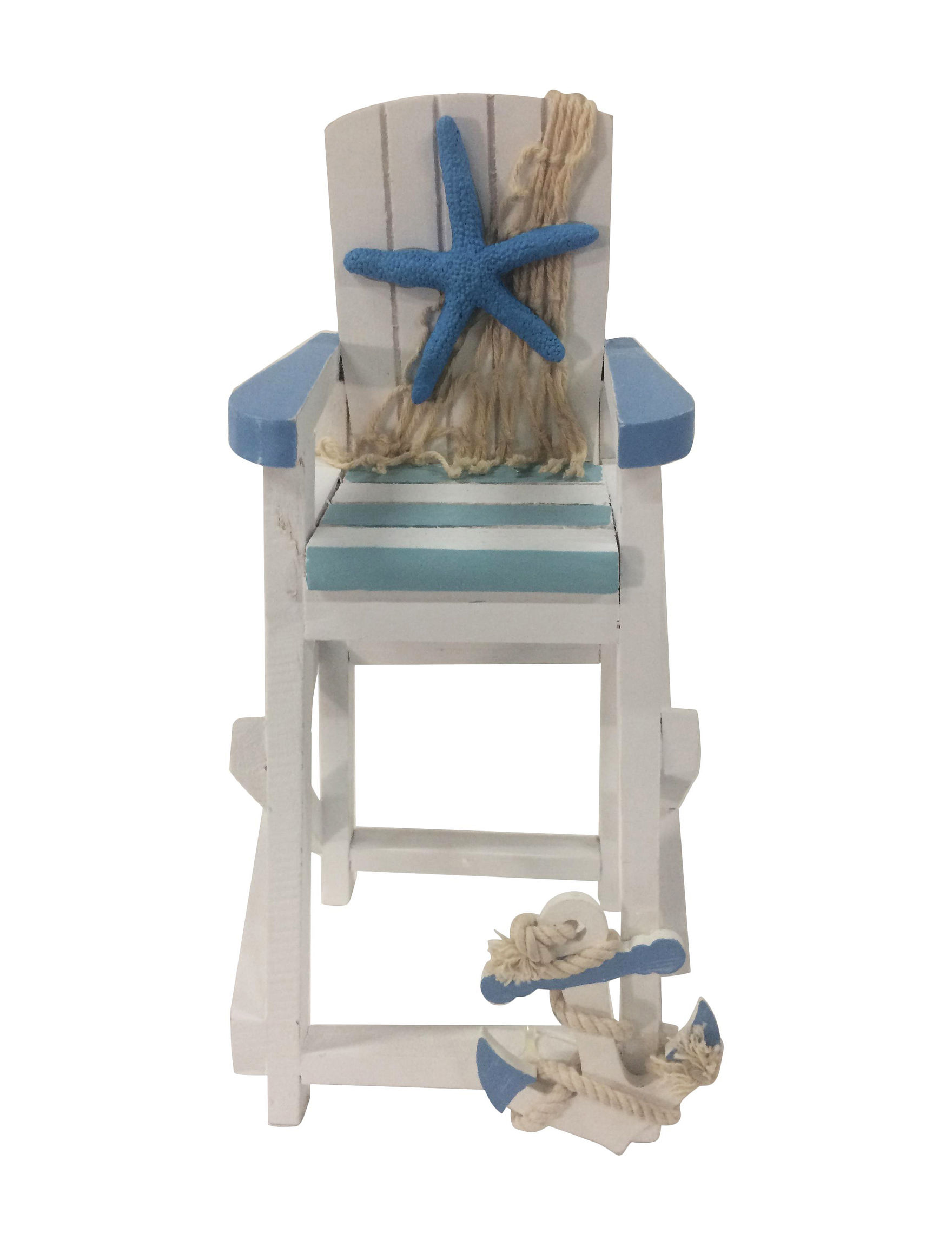 Fancy That Gift White / Blue Decorative Objects Home Accents