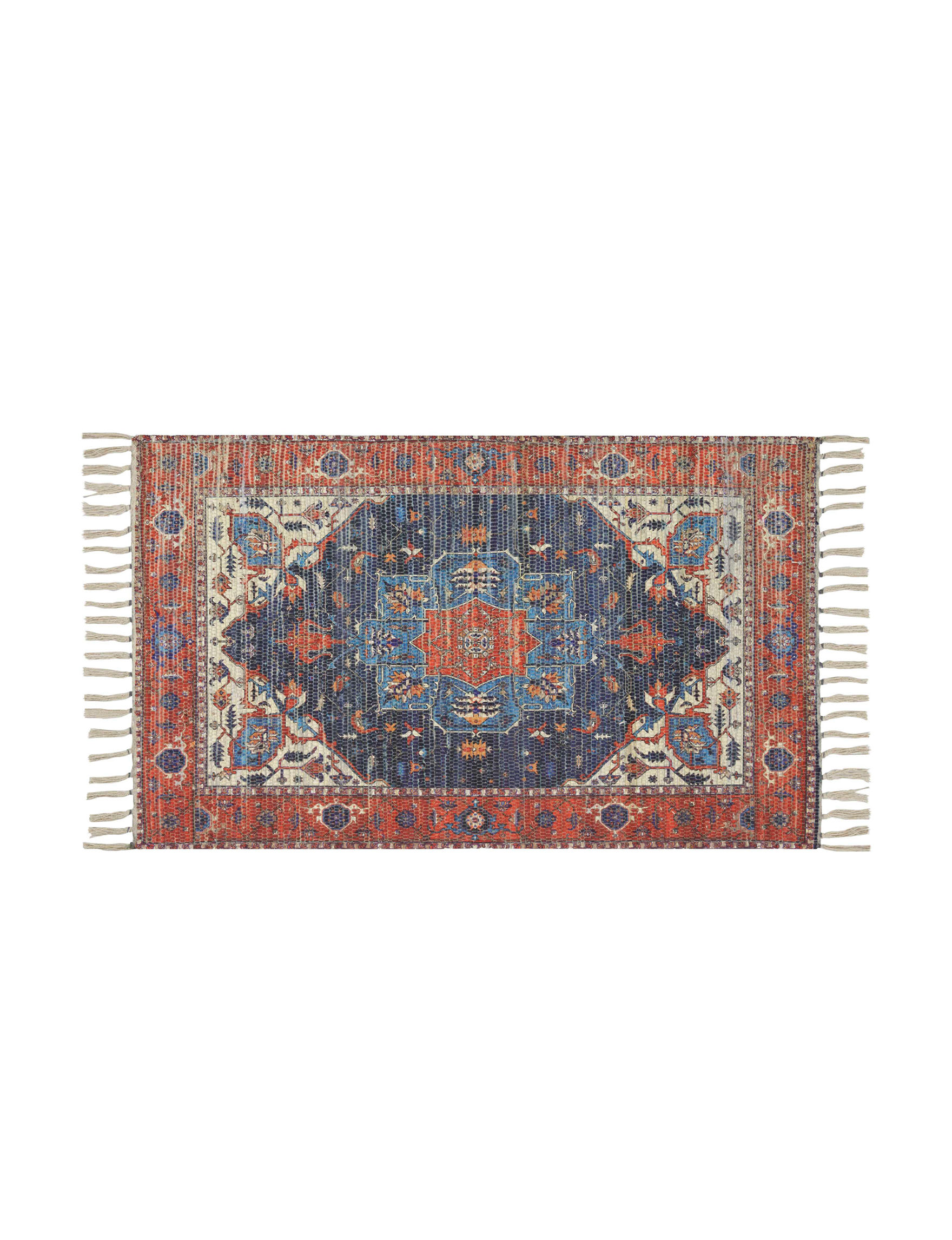 Nourison Red / Multi Accent Rugs Rugs