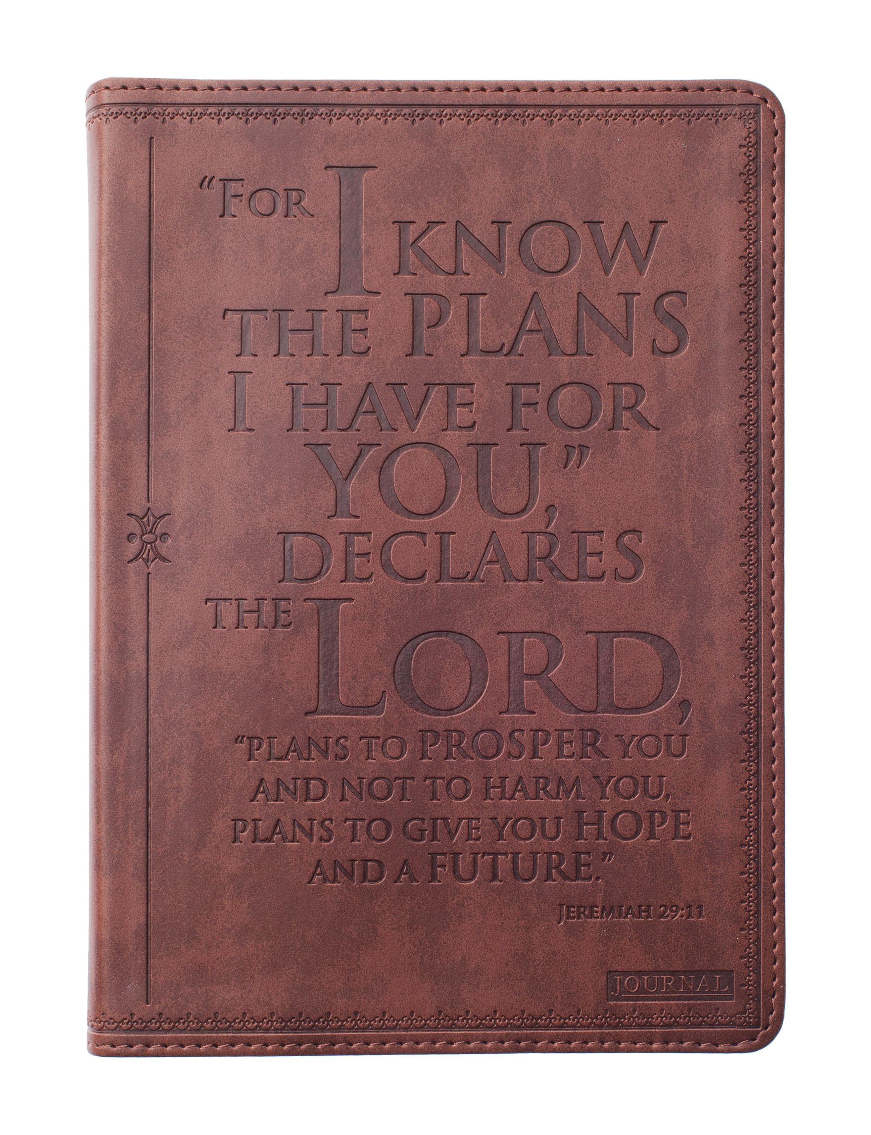 Christian Art Gifts Brown Journals & Notepads