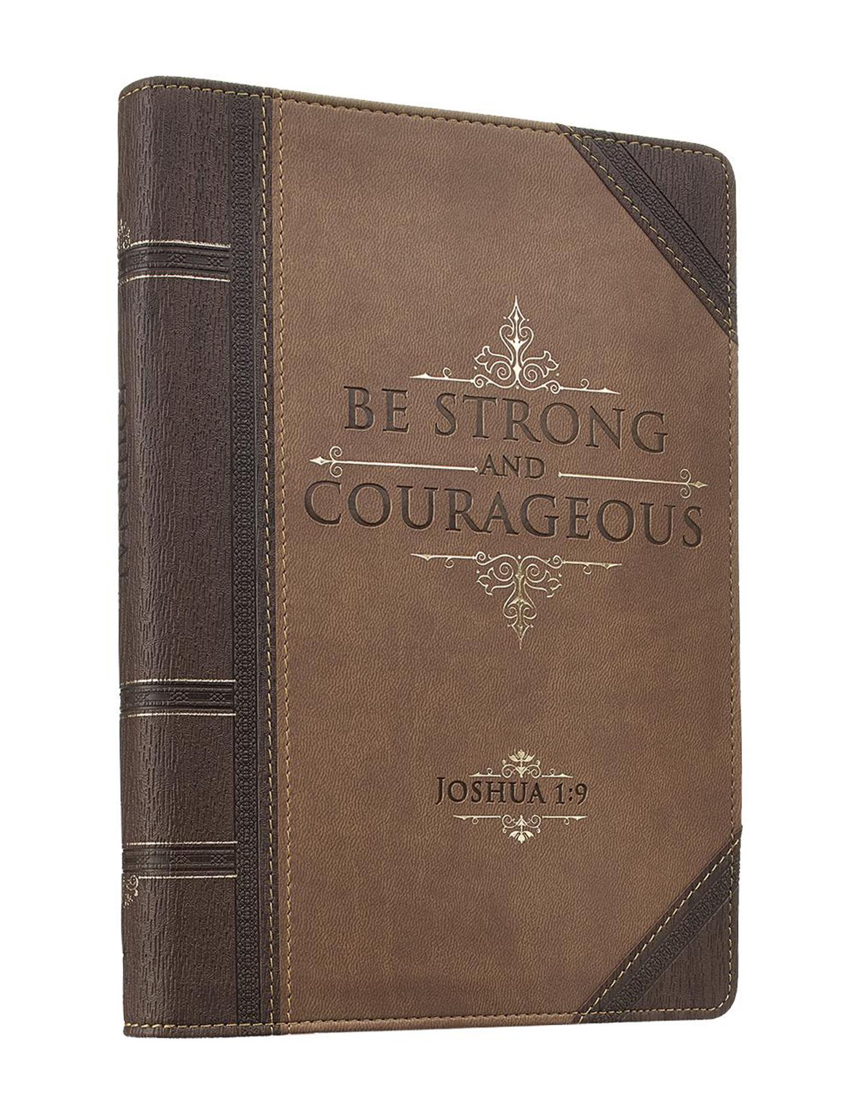 Christian Art Gifts Brown Journals & Notepads School & Office Supplies