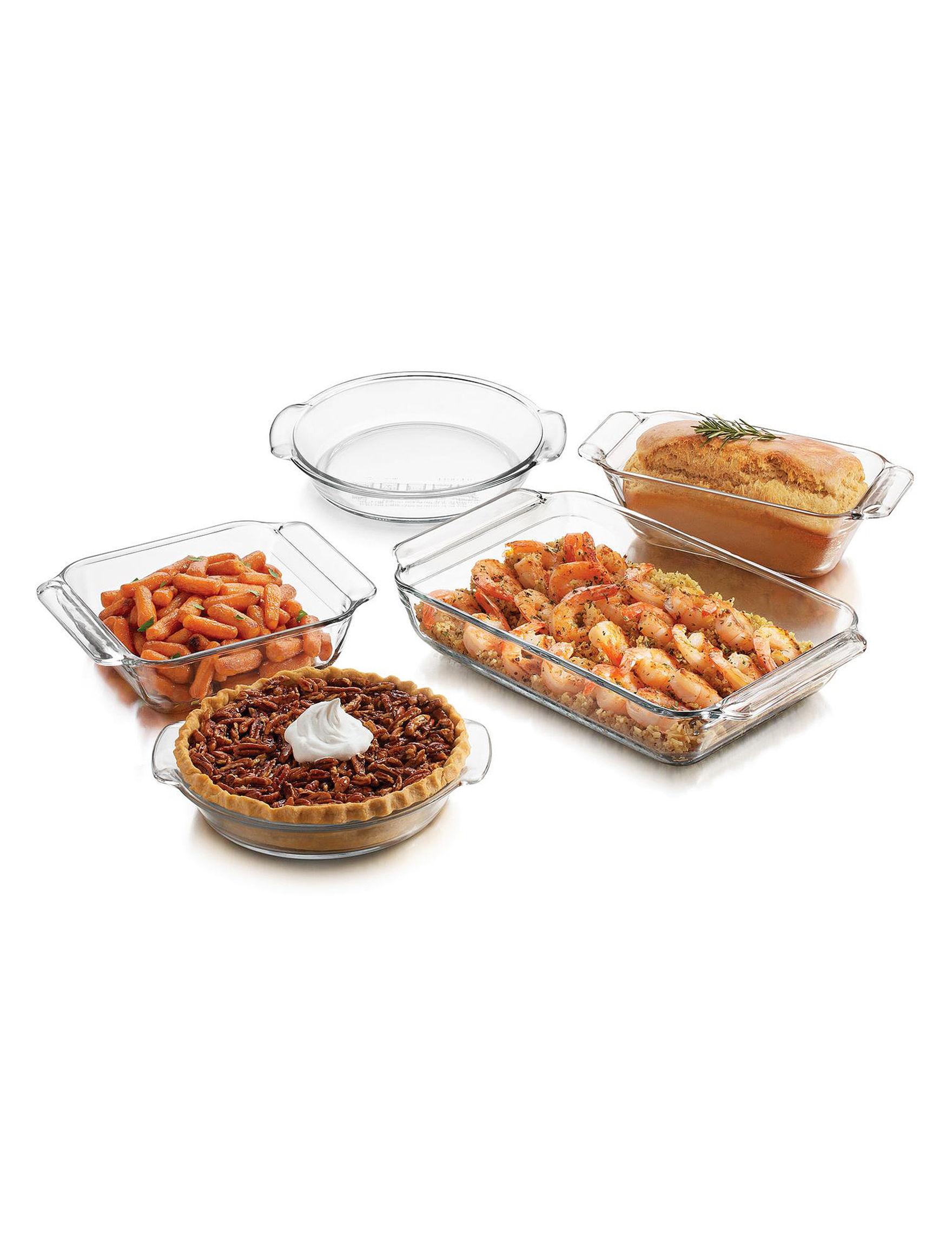 Libbey Glassware Clear Bakeware Sets Bakeware