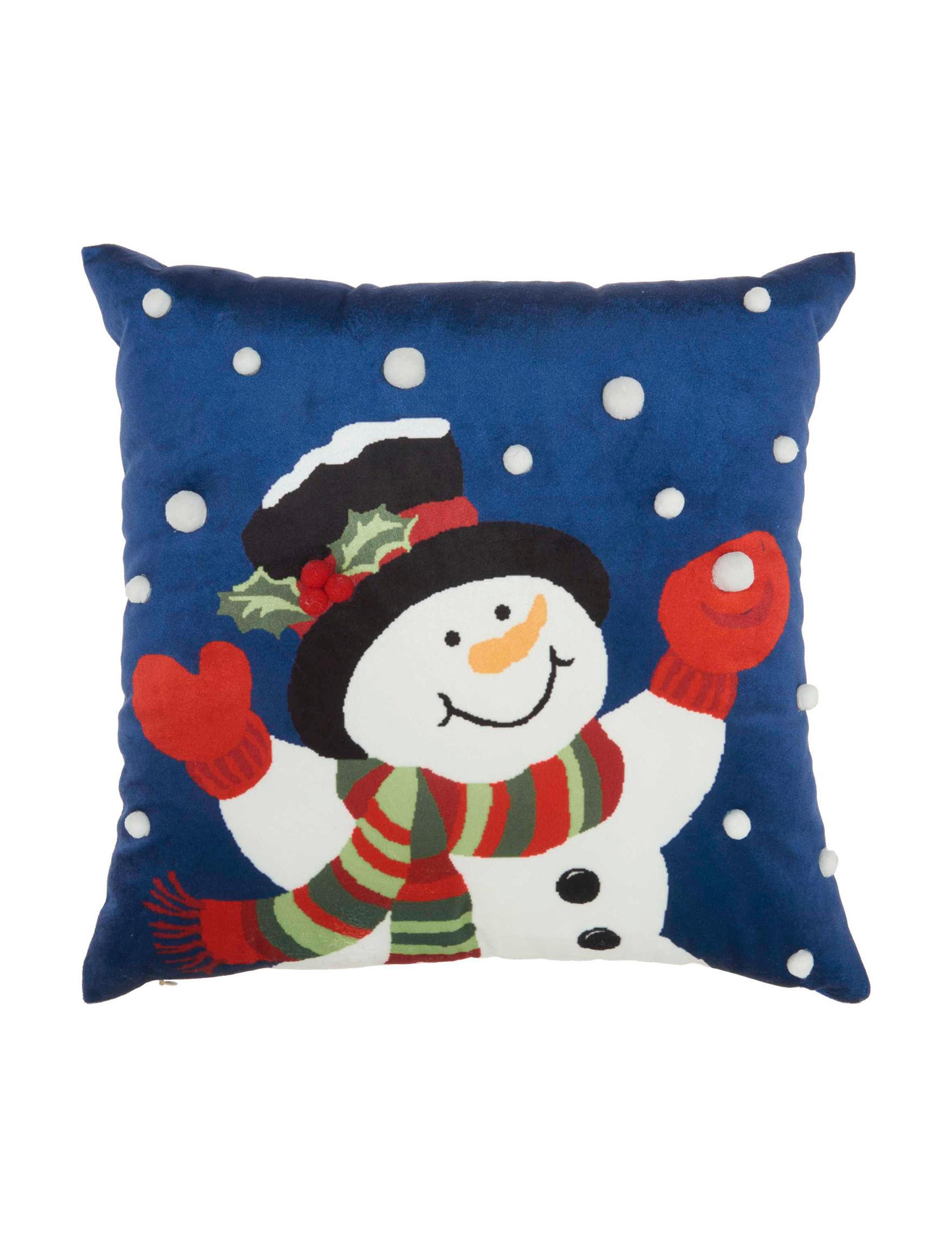 Nourison Blue Decorative Pillows