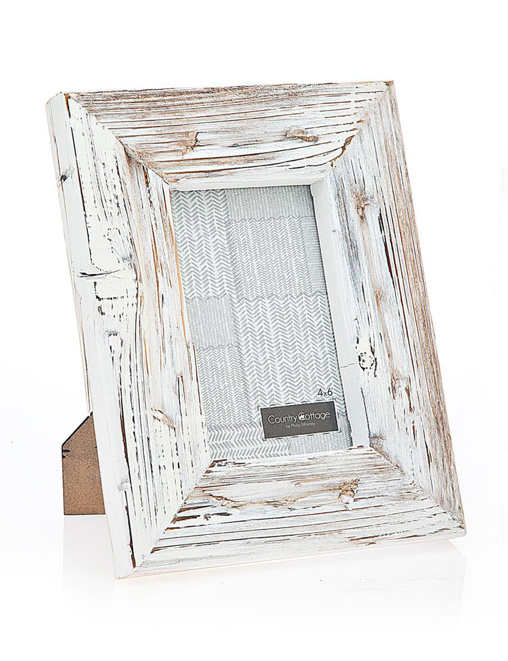 Philip Whitney Distressed White Frames & Shadow Boxes
