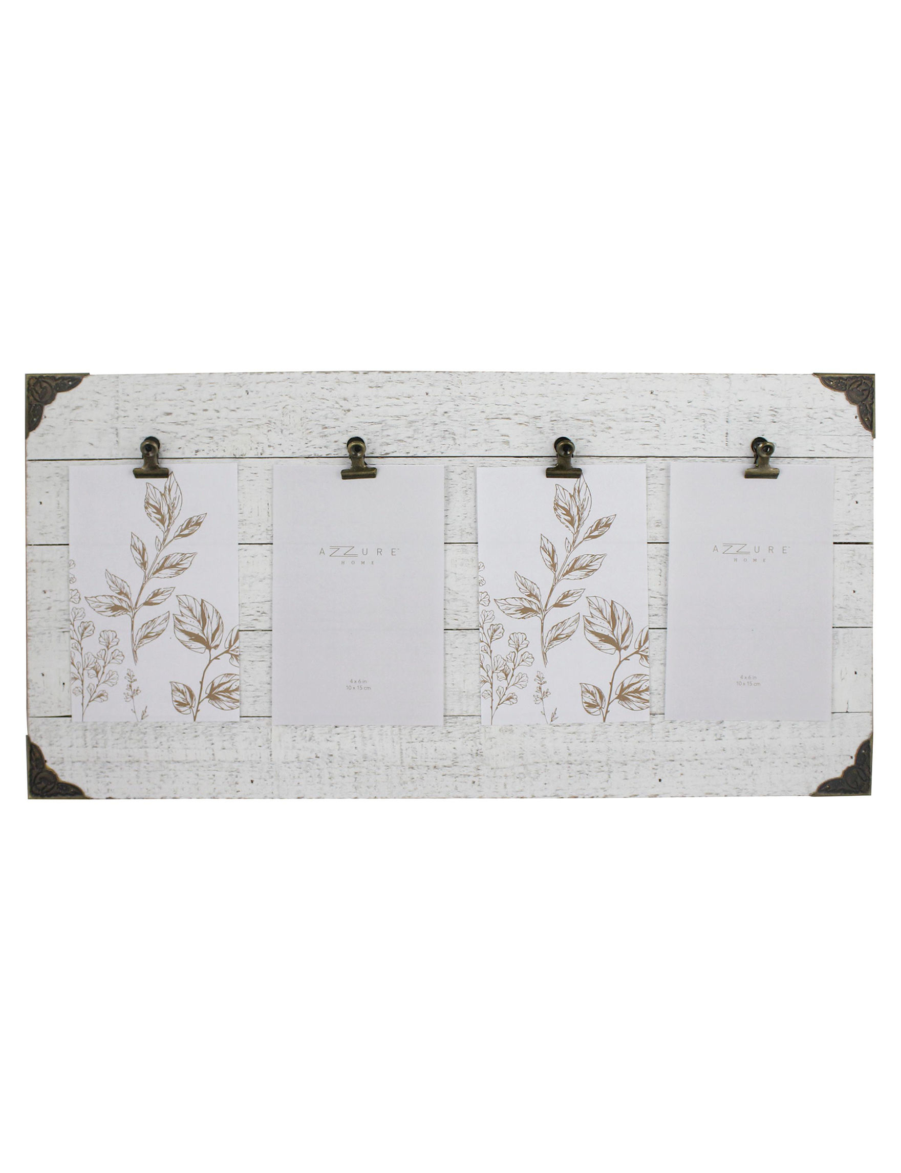 Azzure Home White Message Boards Home Accents
