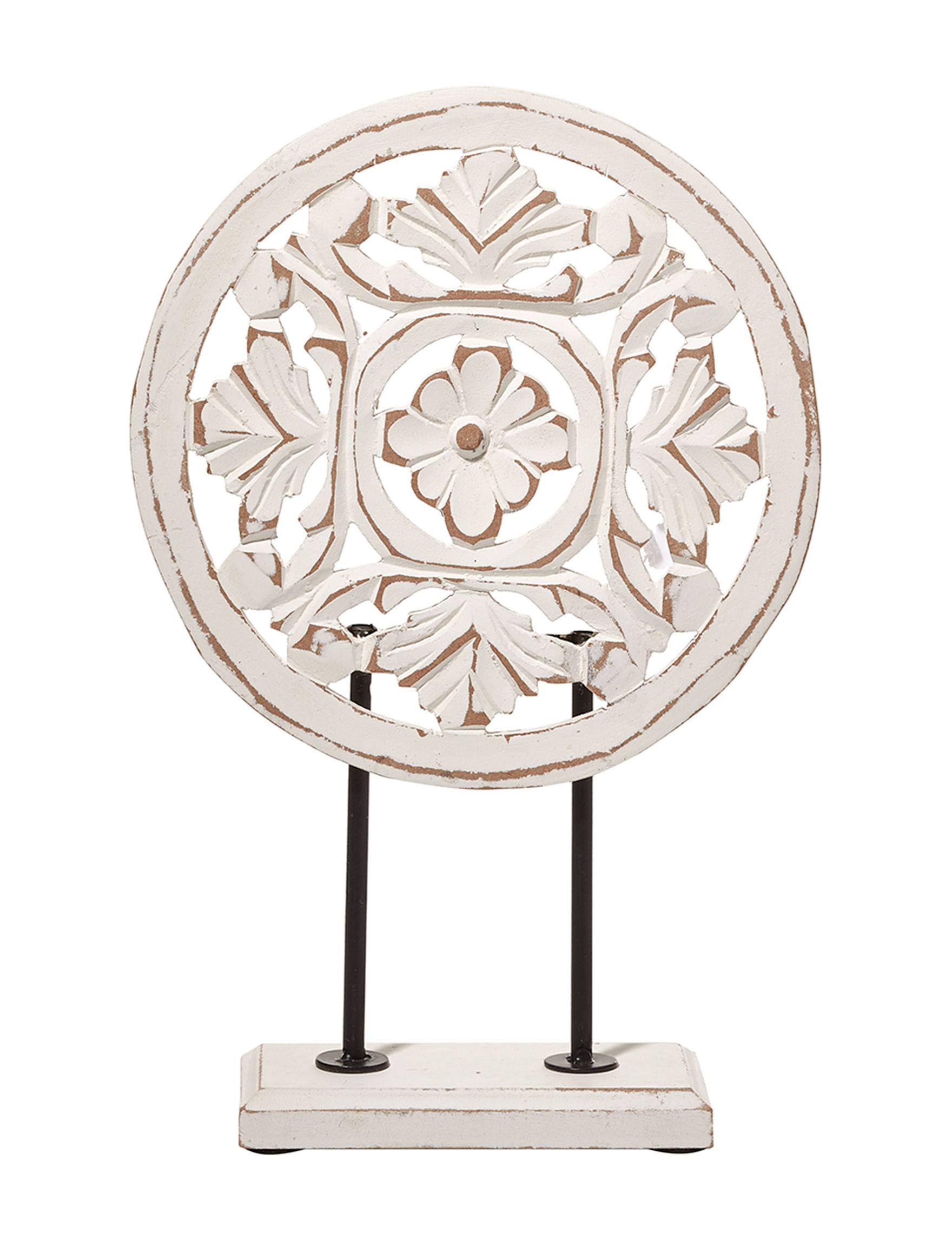 Crystal Art Gallery White Decorative Objects Home Accents