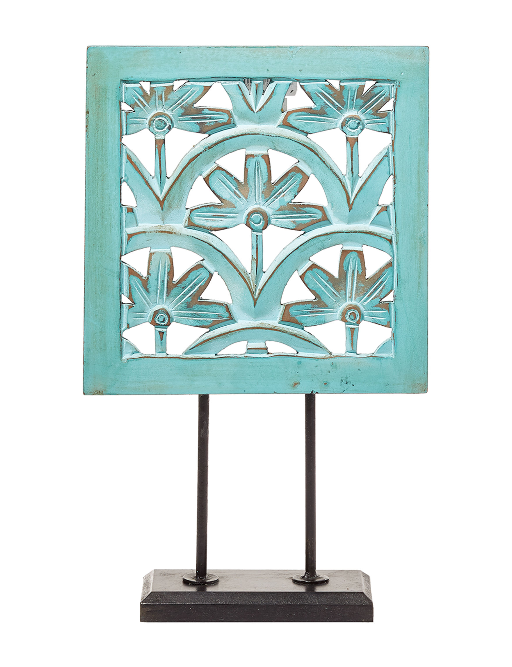 Crystal Art Gallery Turquoise Decorative Objects Home Accents