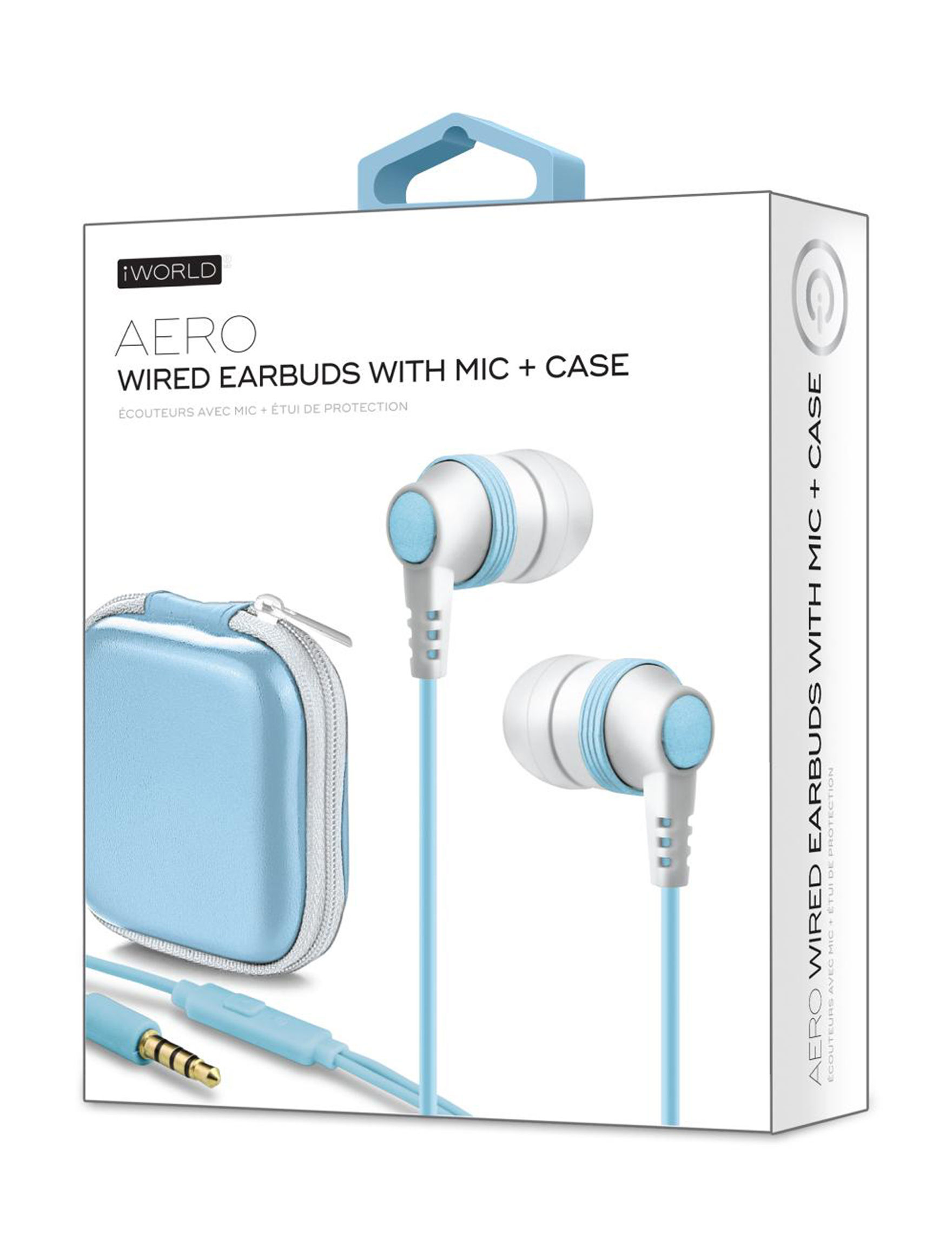 iWorld Blue Headphones Tech Accessories