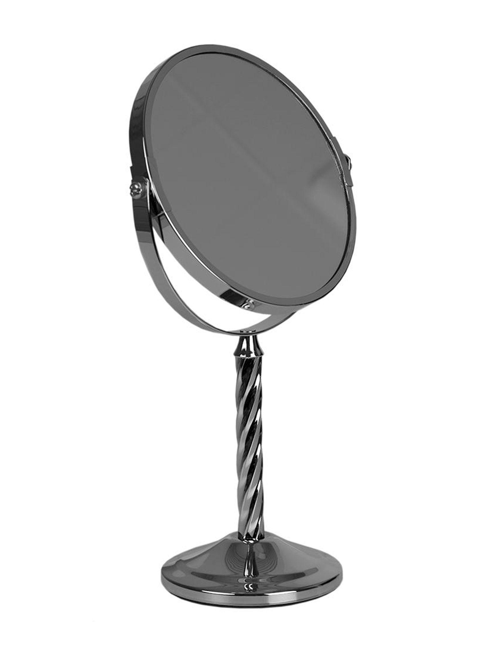 Home Basics Chrome Vanity Mirrors Bath Accessories