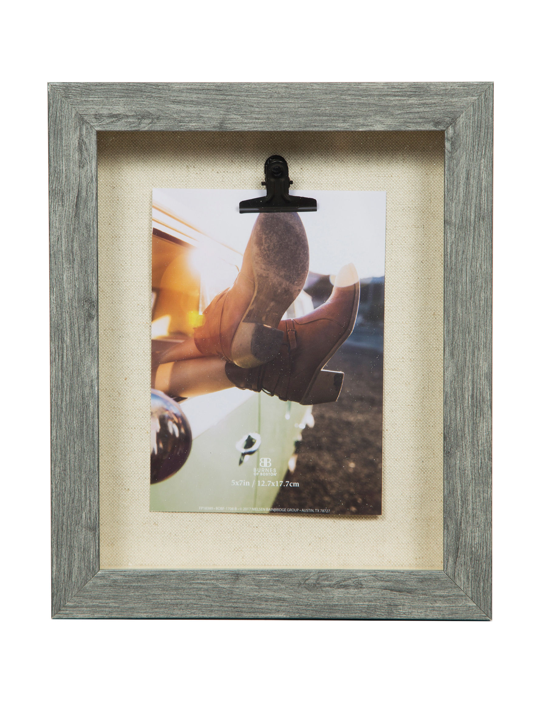 Nielsen Grey Frames & Shadow Boxes